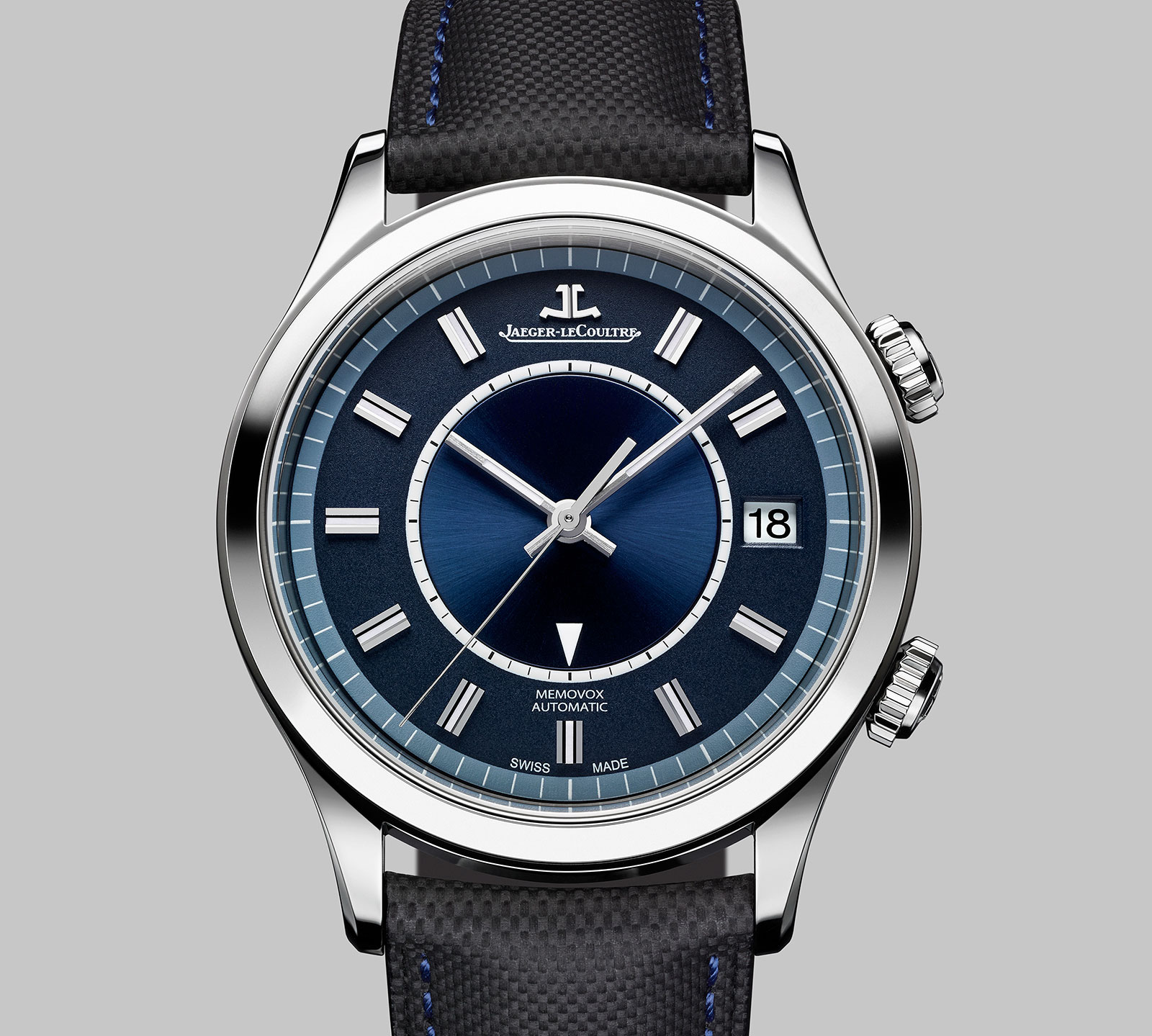 Jaeger-LeCoultre Master Memovox Boutique Edition Blue Dial 2