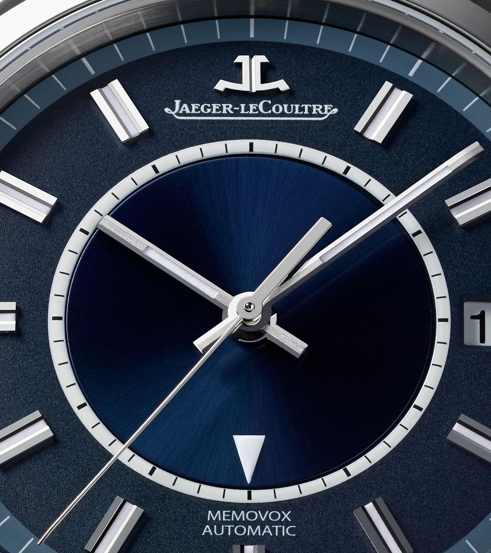 Jaeger-LeCoultre Master Memovox Boutique Edition Blue Dial 3