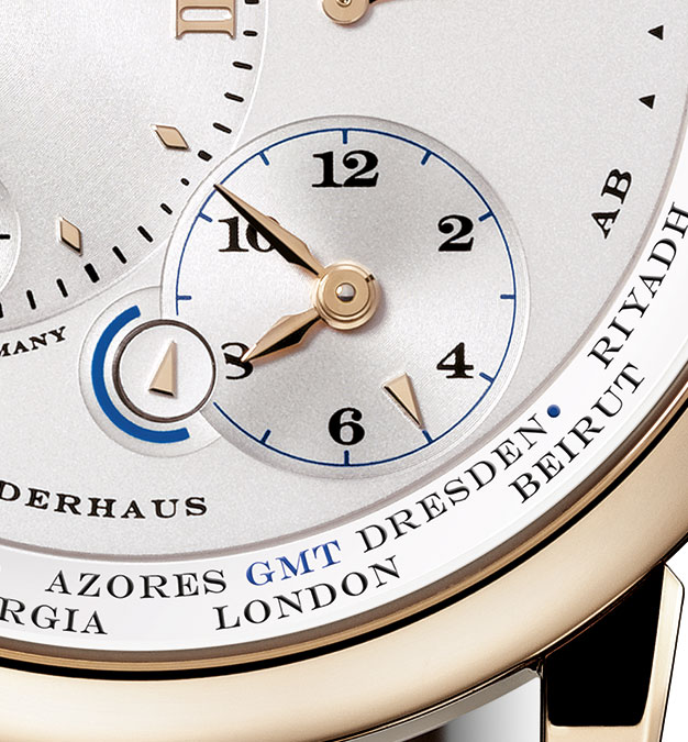 Lange 1 Time Zone Honey Gold 1