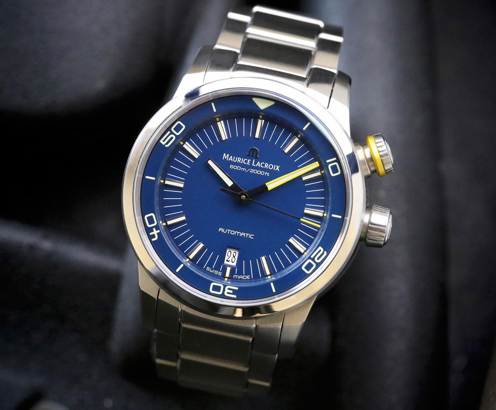 Maurice Lacroix Pontos S Diver Blue Devil Limited Edition 2