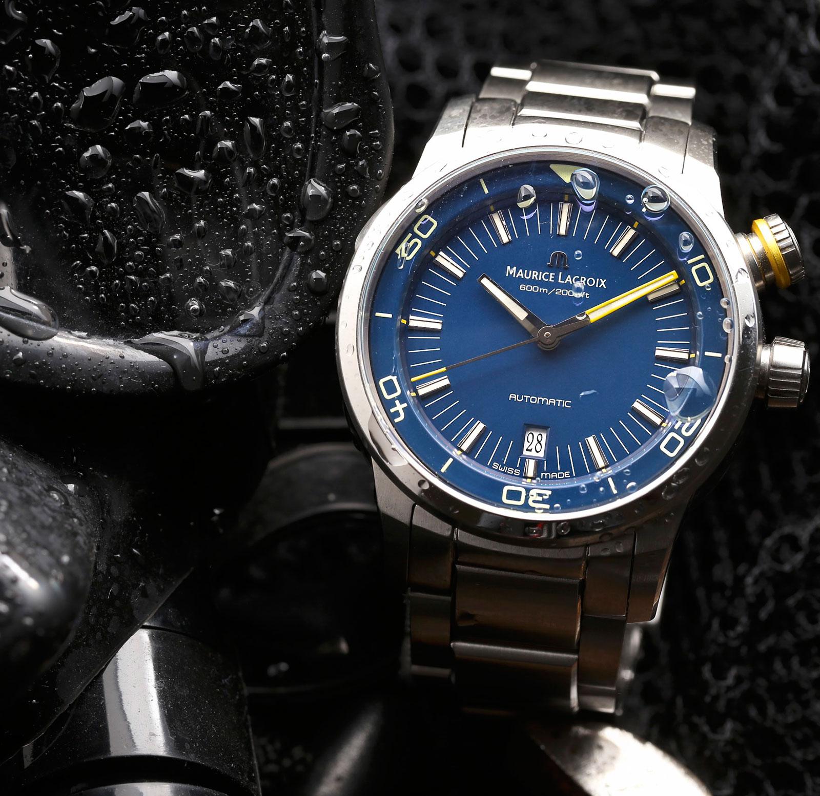 Maurice Lacroix Pontos S Diver Blue Devil Limited Edition 3