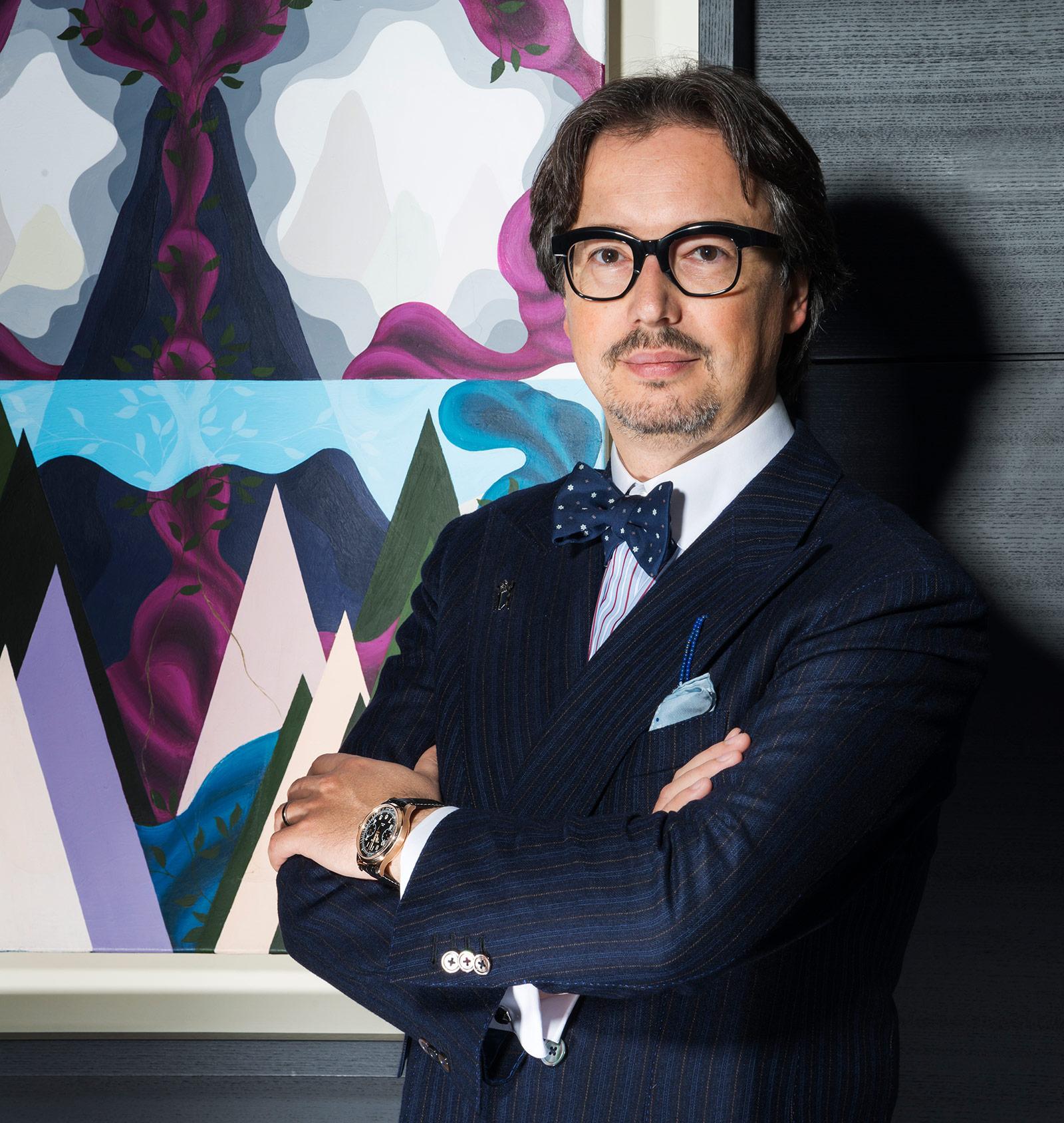 Montblanc Davide Cerrato portrait