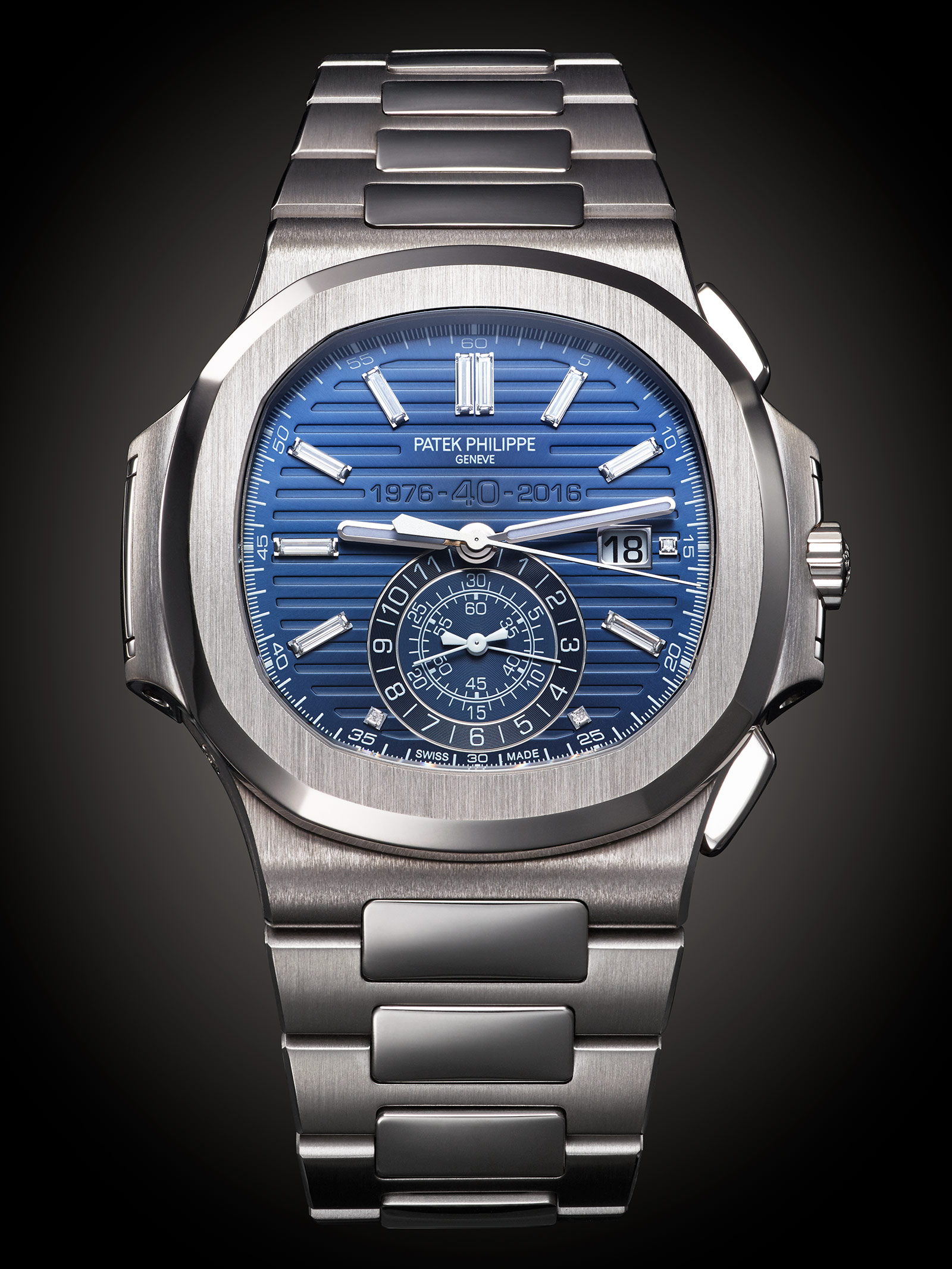 Patek Philippe Nautilus Chronograph Ref. 5976-1G 40th Anniversary 1