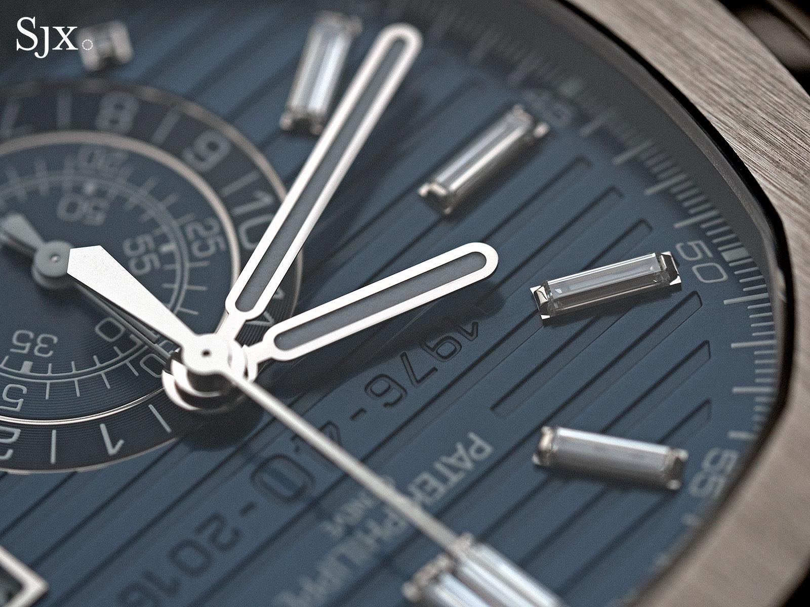 Patek Philippe Nautilus Chronograph Ref. 5976-1G 40th Anniversary 10