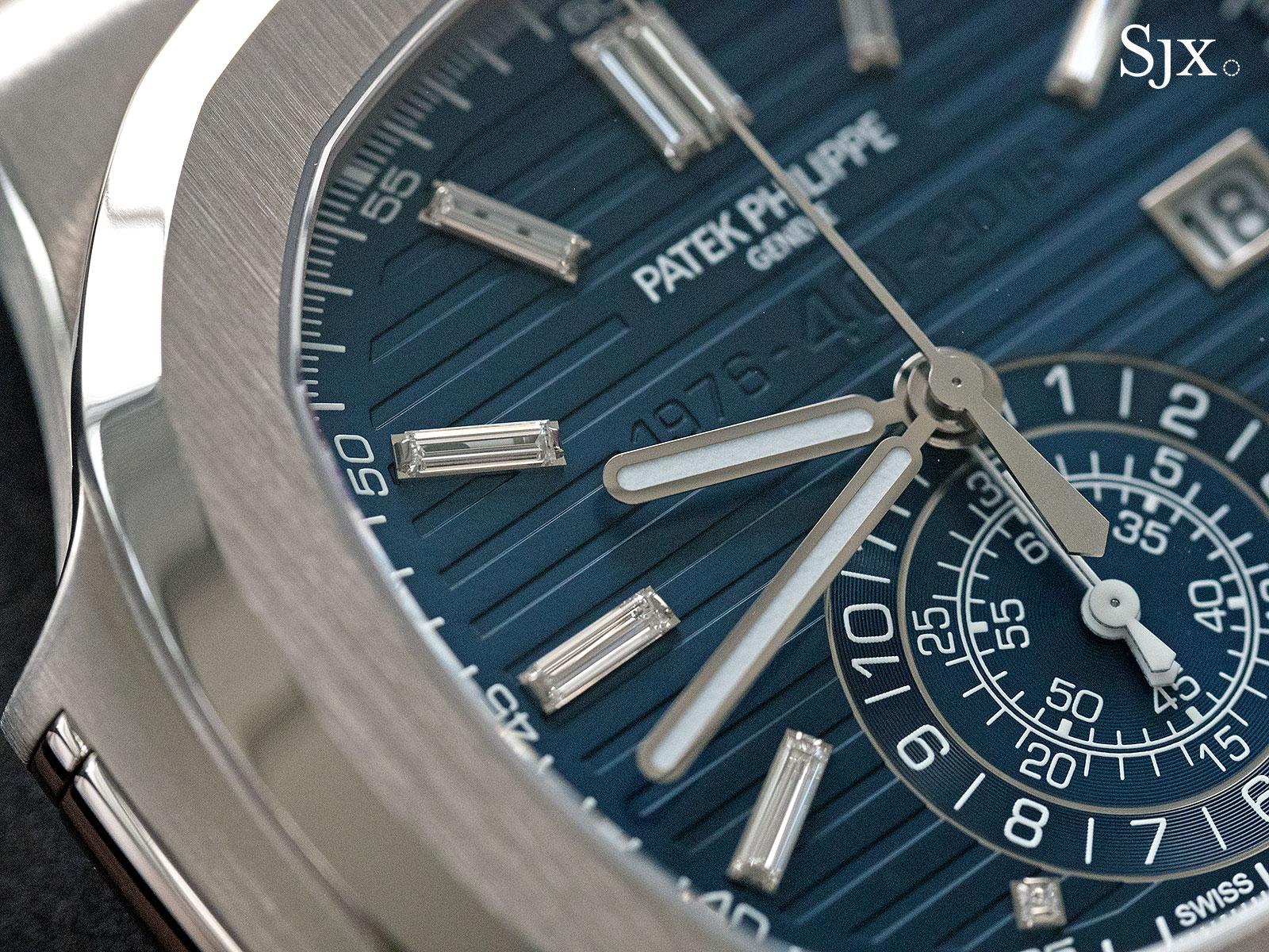 Patek Philippe Nautilus Chronograph Ref. 5976-1G 40th Anniversary 13
