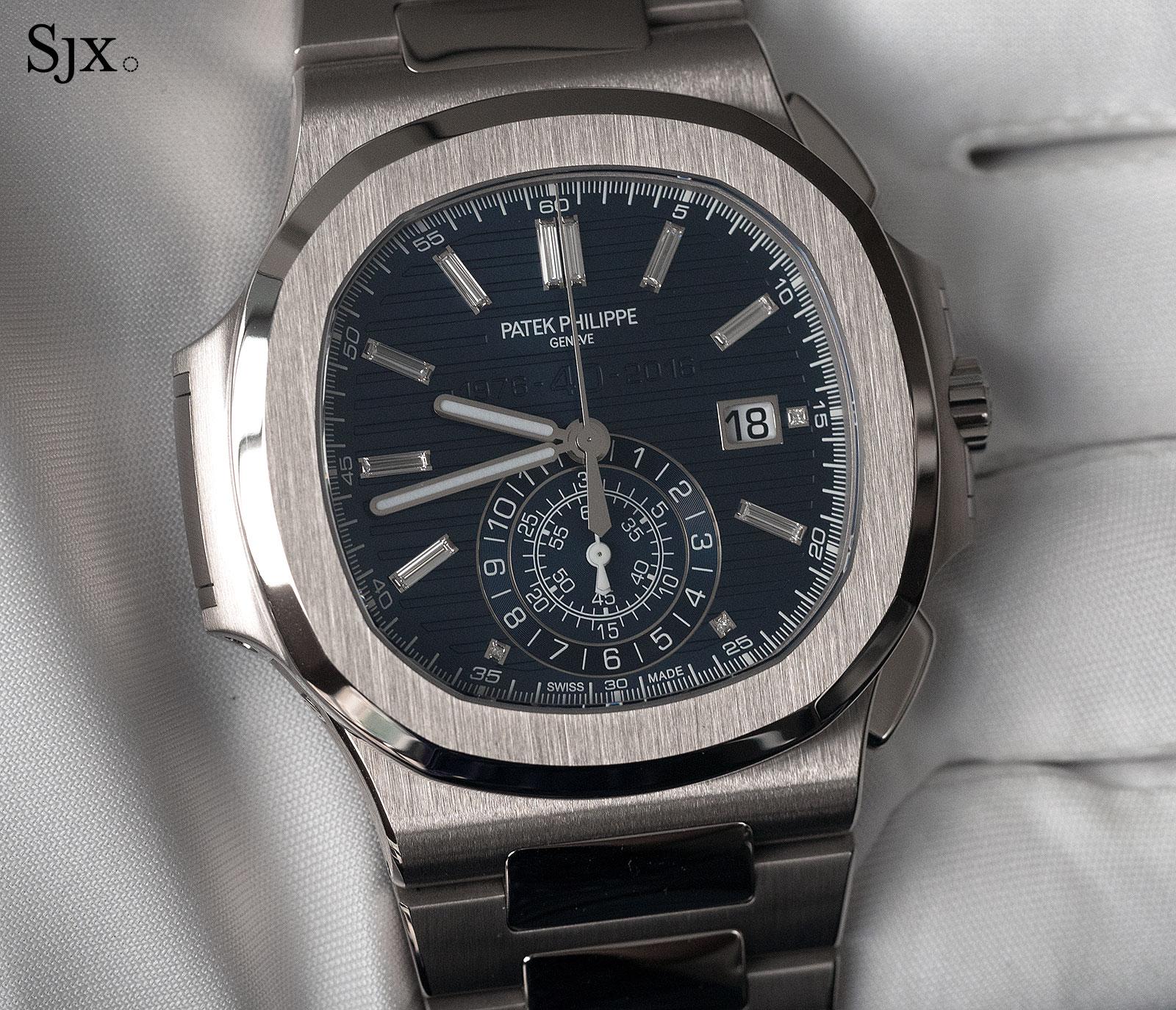 Patek Philippe Nautilus Chronograph Ref. 5976-1G 40th Anniversary 15