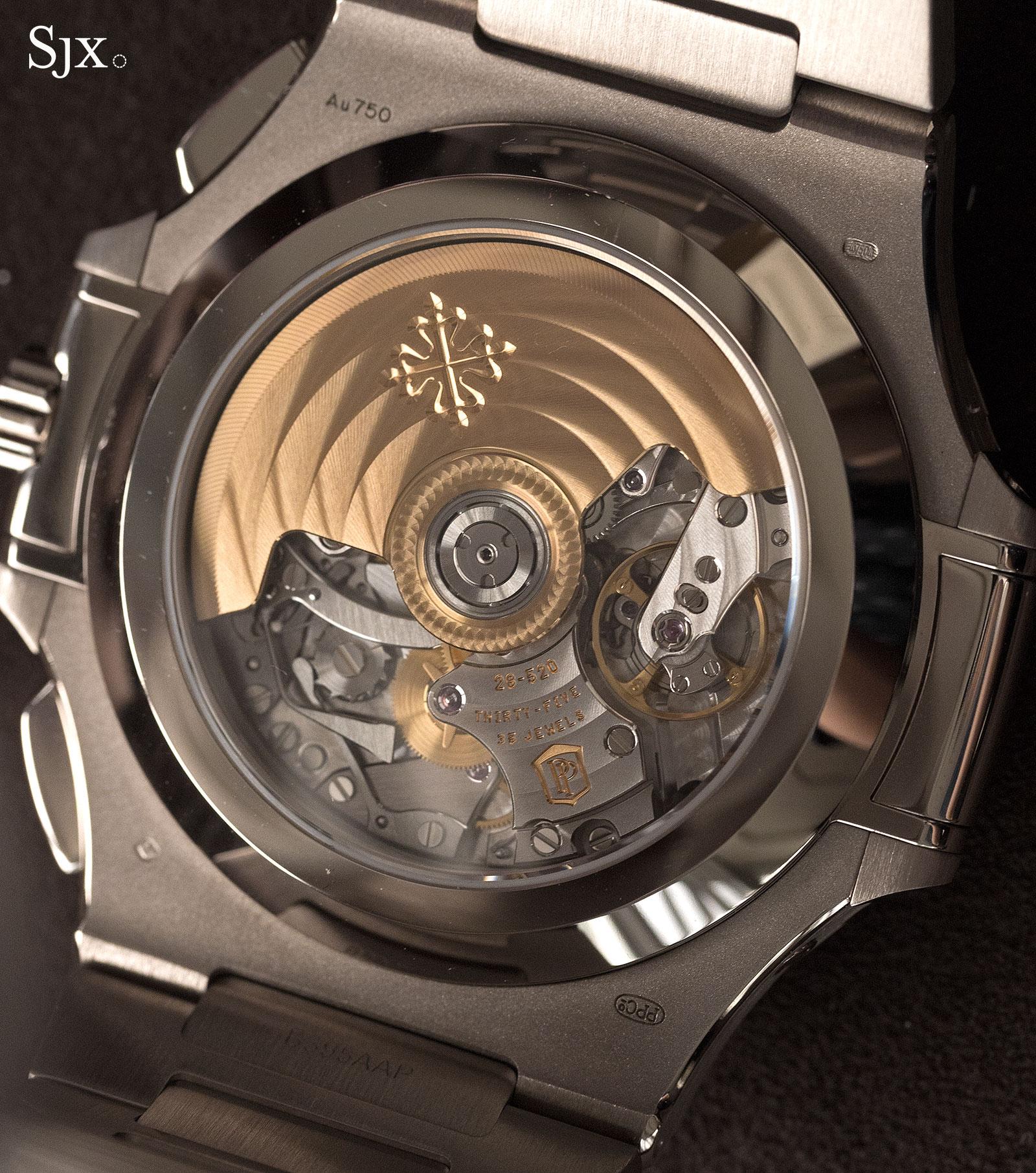 Patek Philippe Nautilus Chronograph Ref. 5976-1G 40th Anniversary 19