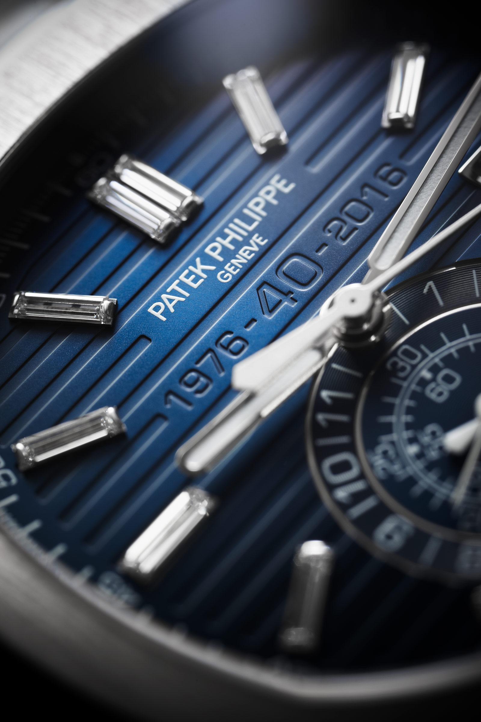 Patek Philippe Nautilus Chronograph Ref. 5976-1G 40th Anniversary 2