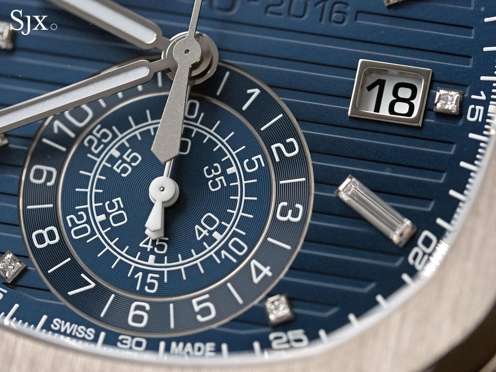 Patek Philippe Nautilus Chronograph Ref. 5976-1G 40th Anniversary 4