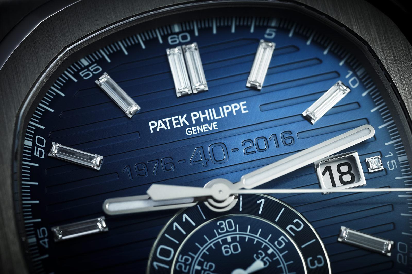Patek Philippe Nautilus Chronograph Ref. 5976-1G 40th Anniversary 5