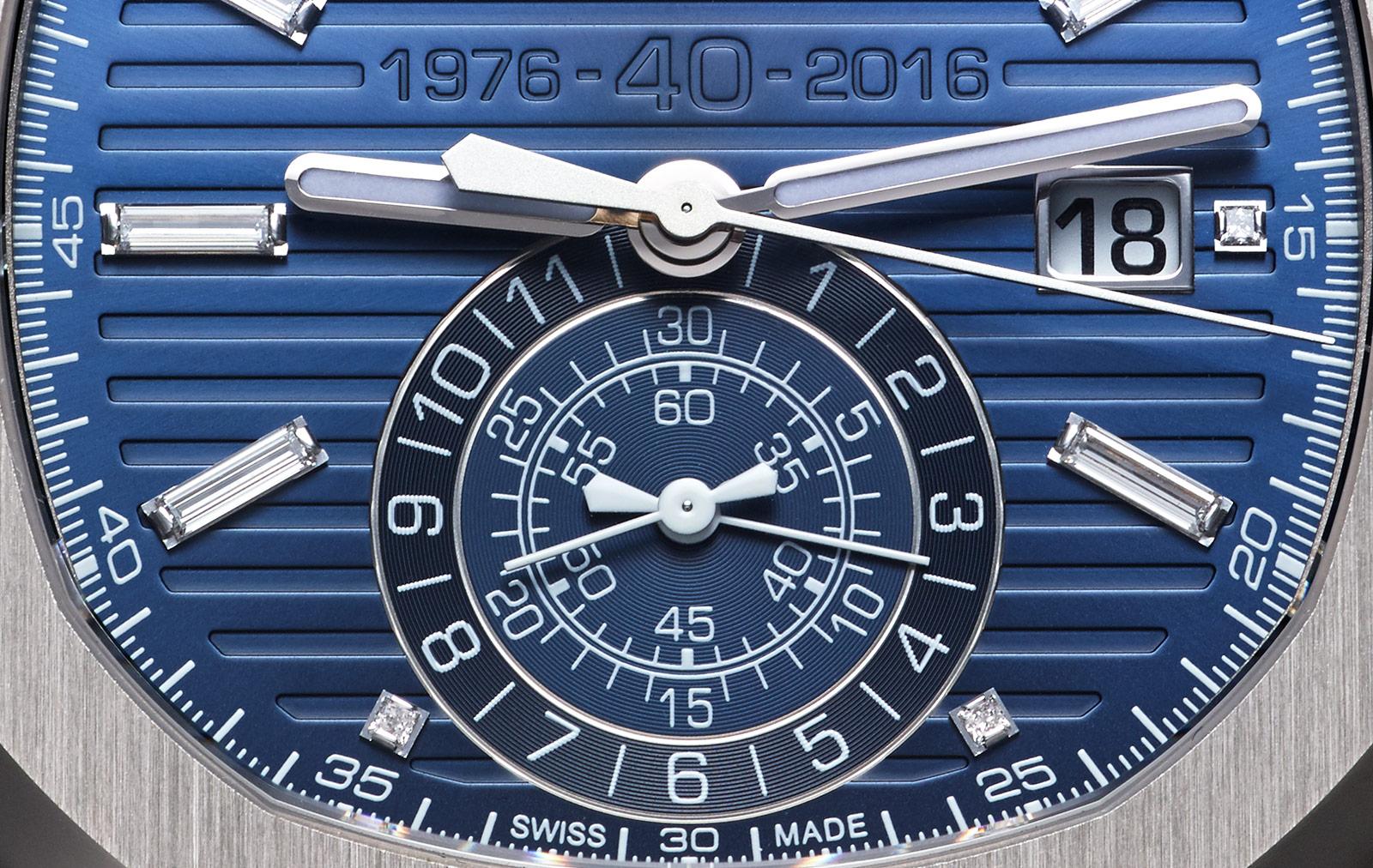 Patek Philippe Nautilus Chronograph Ref. 5976-1G 40th Anniversary 6