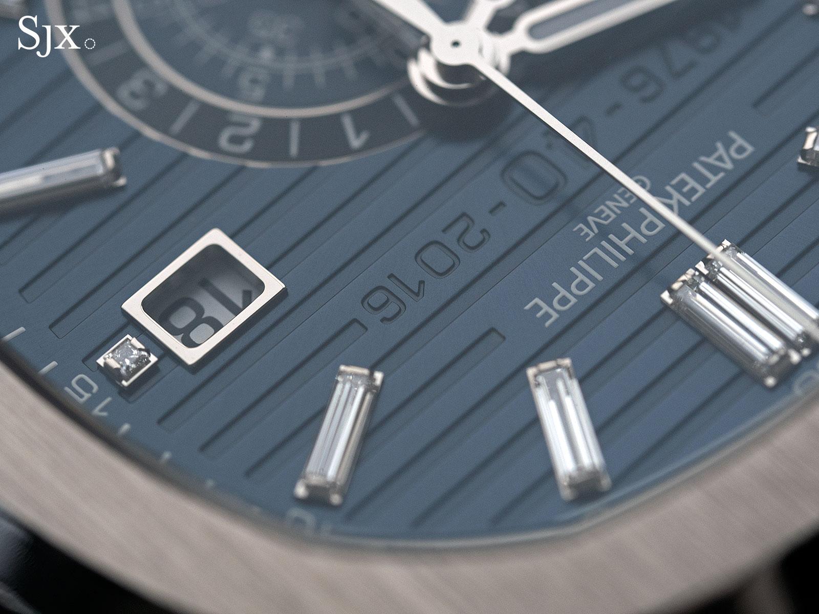 Patek Philippe Nautilus Chronograph Ref. 5976-1G 40th Anniversary 9