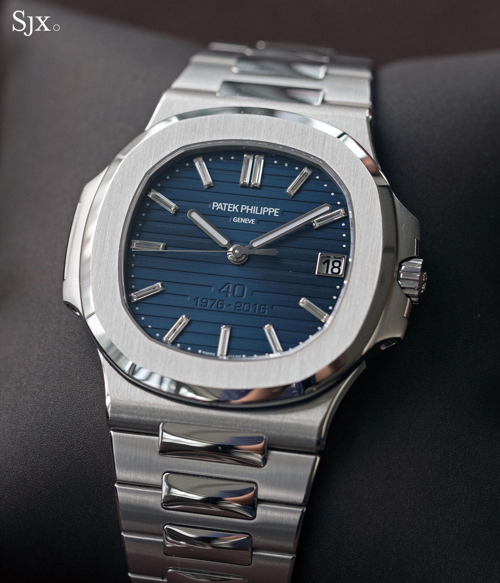Patek Philippe Nautilus Ref. 5711-1P 40th Anniversary platinum 1