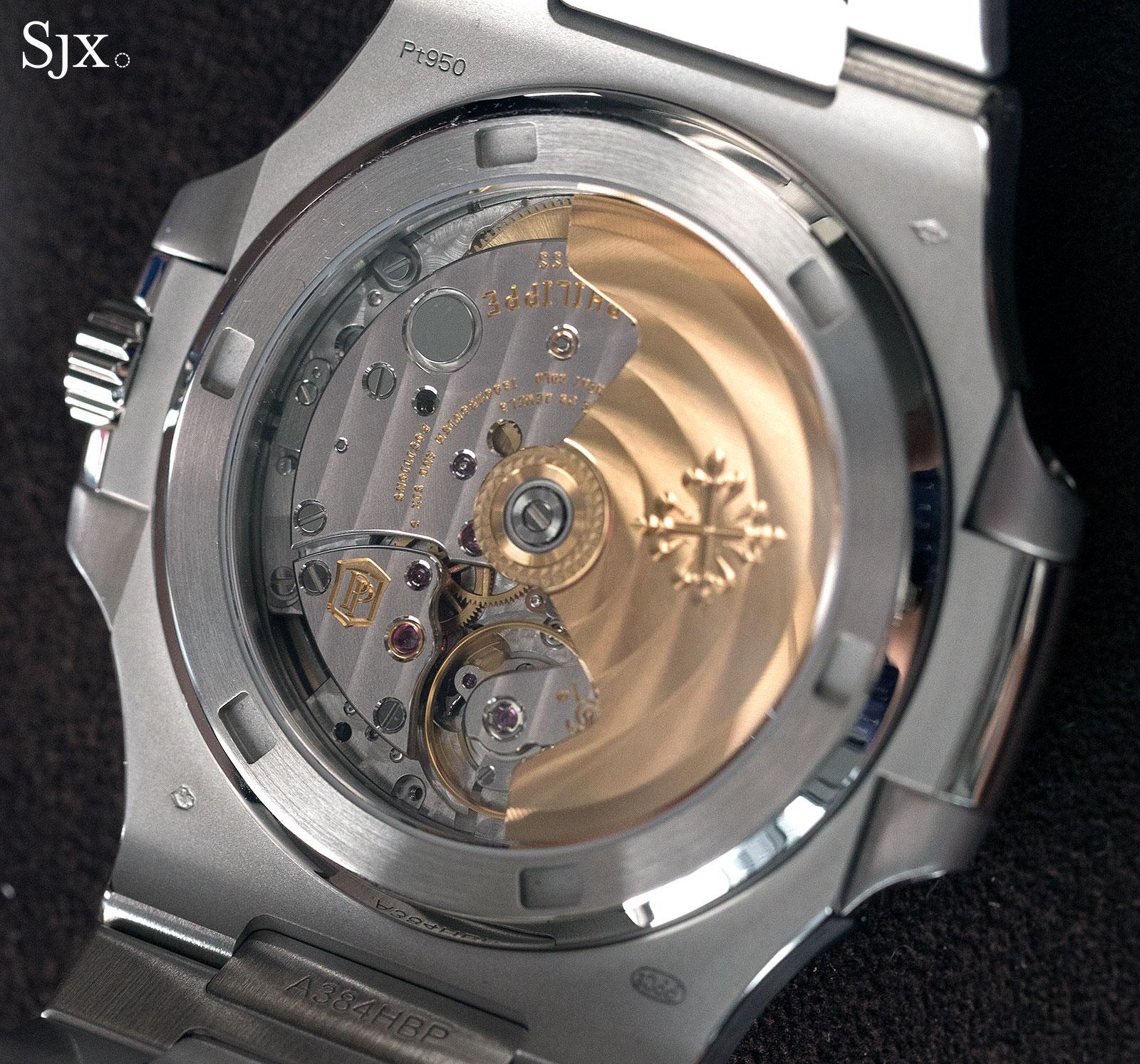 Patek Philippe Nautilus Ref. 5711-1P 40th Anniversary platinum 13