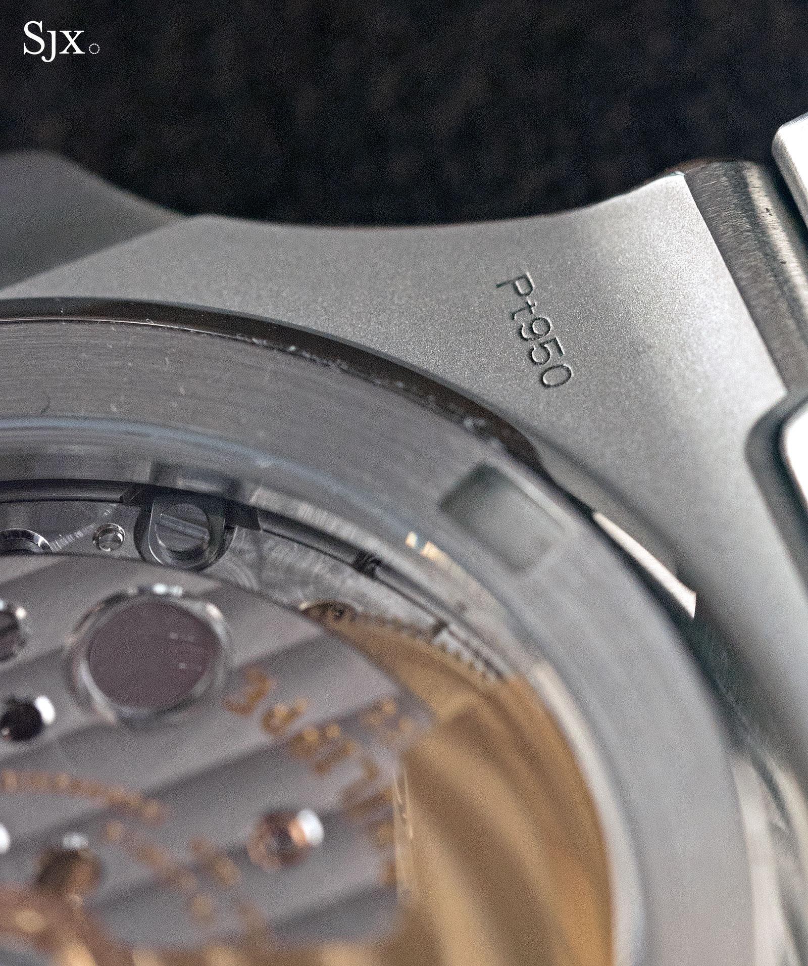 Patek Philippe Nautilus Ref. 5711-1P 40th Anniversary platinum 14