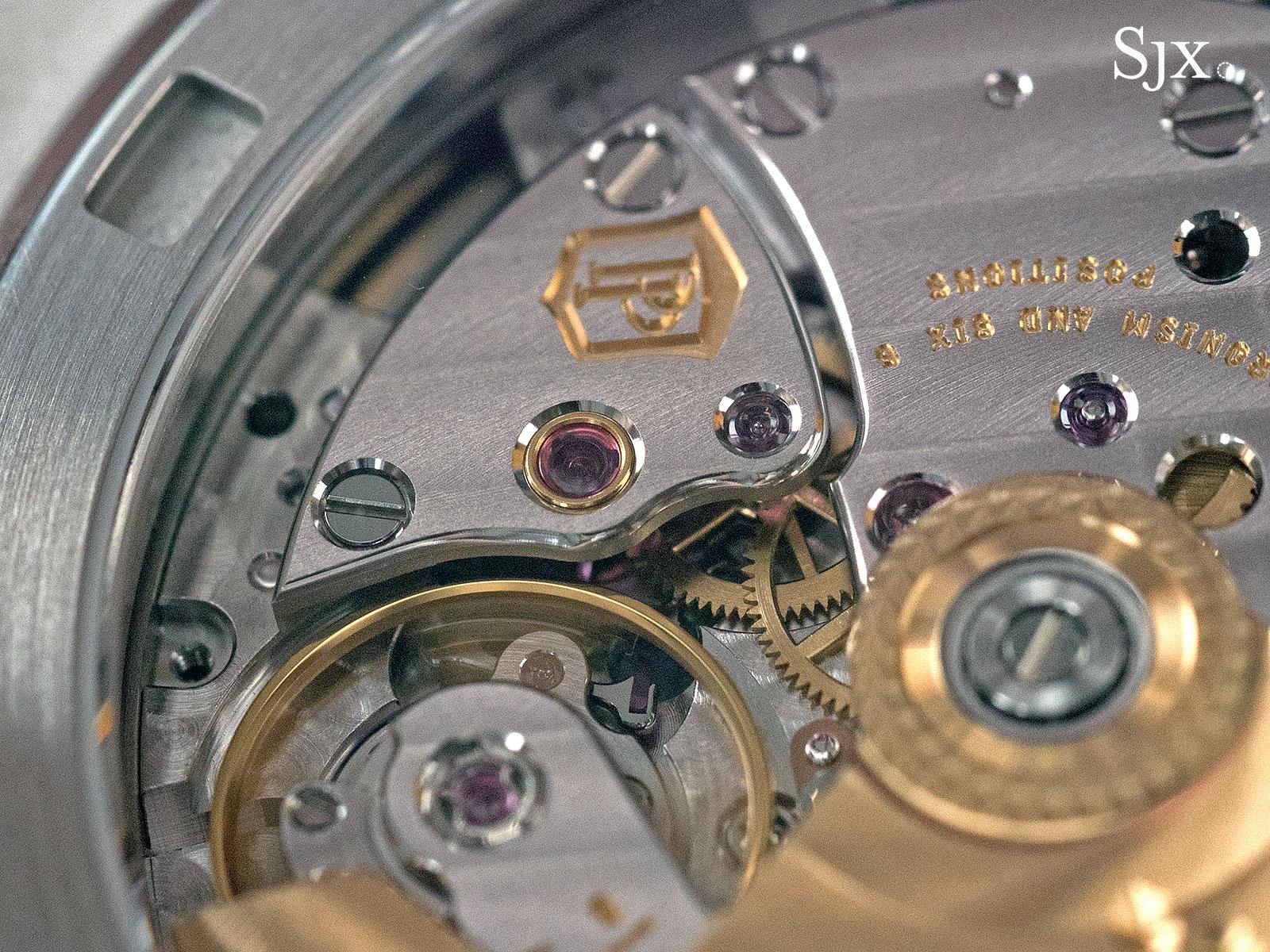 Patek Philippe Nautilus Ref. 5711-1P 40th Anniversary platinum 15
