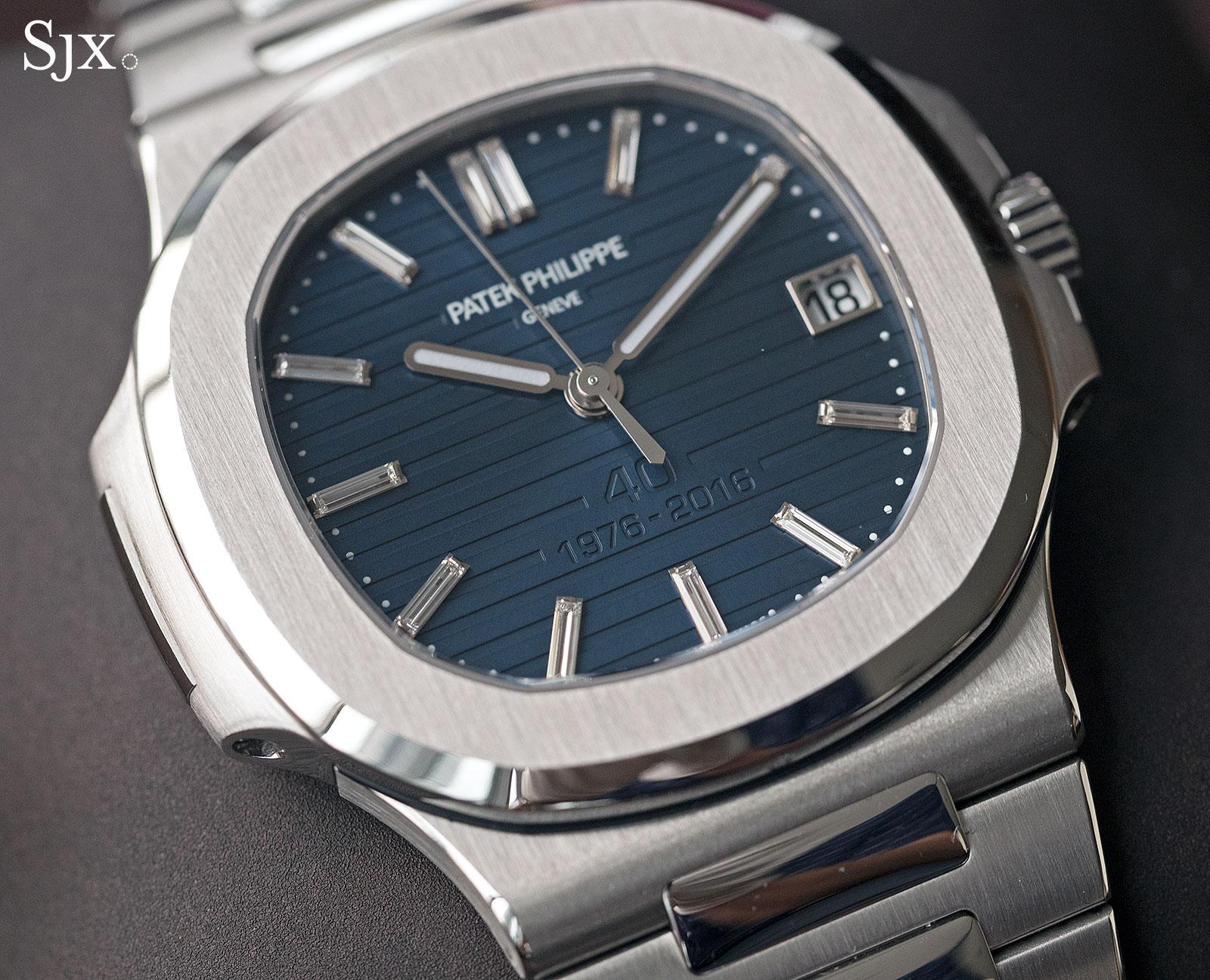 Patek Philippe Nautilus Ref. 5711-1P 40th Anniversary platinum 3