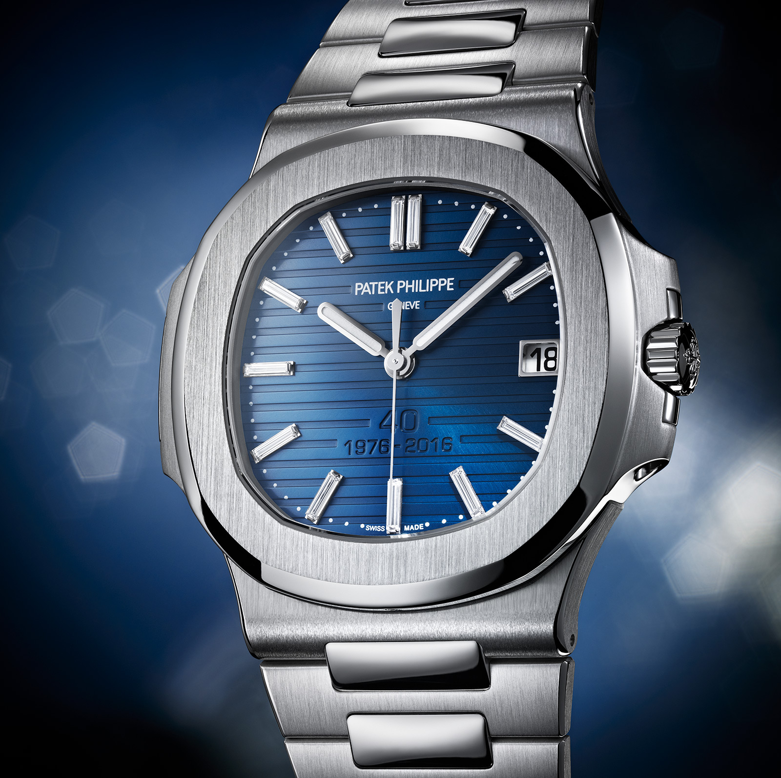 3f837447231 Introducing the Patek Philippe Nautilus 40th Anniversary Limited ...