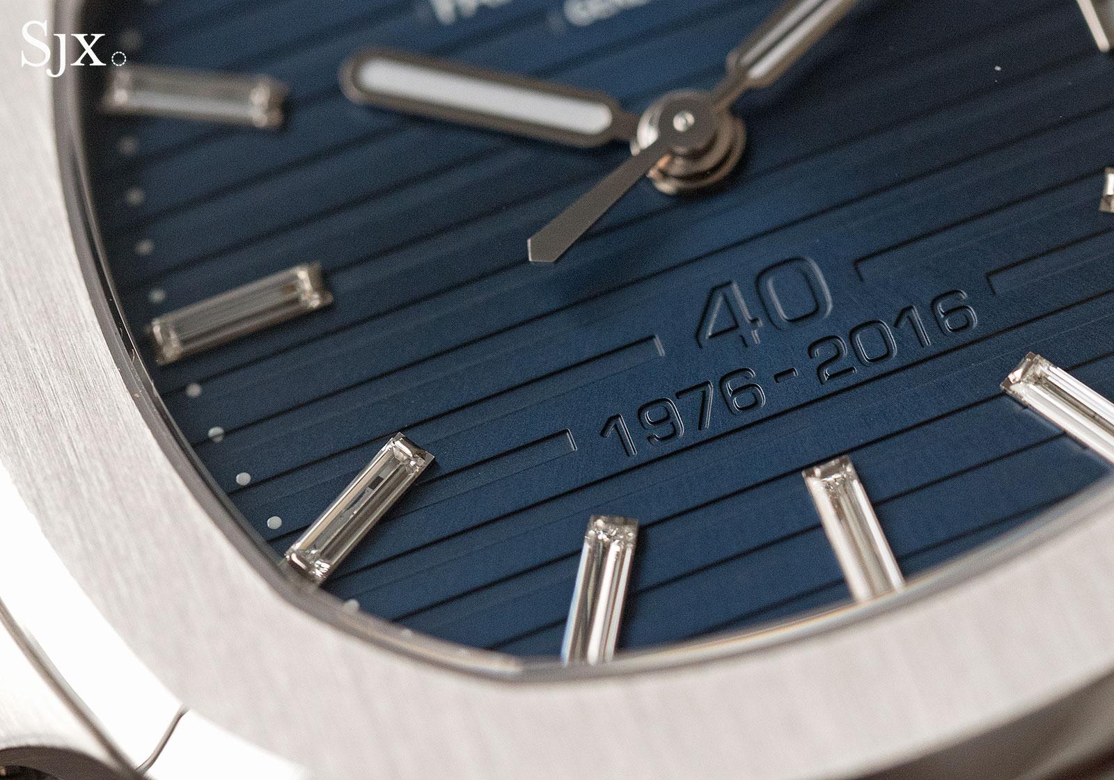 Patek Philippe Nautilus Ref. 5711-1P 40th Anniversary platinum 4