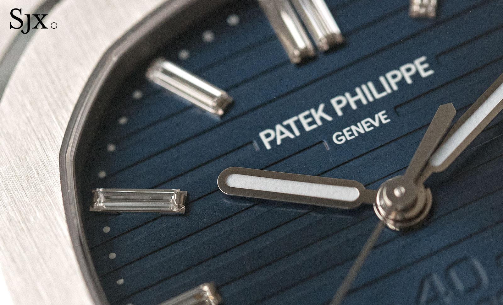 Patek Philippe Nautilus Ref. 5711-1P 40th Anniversary platinum 5