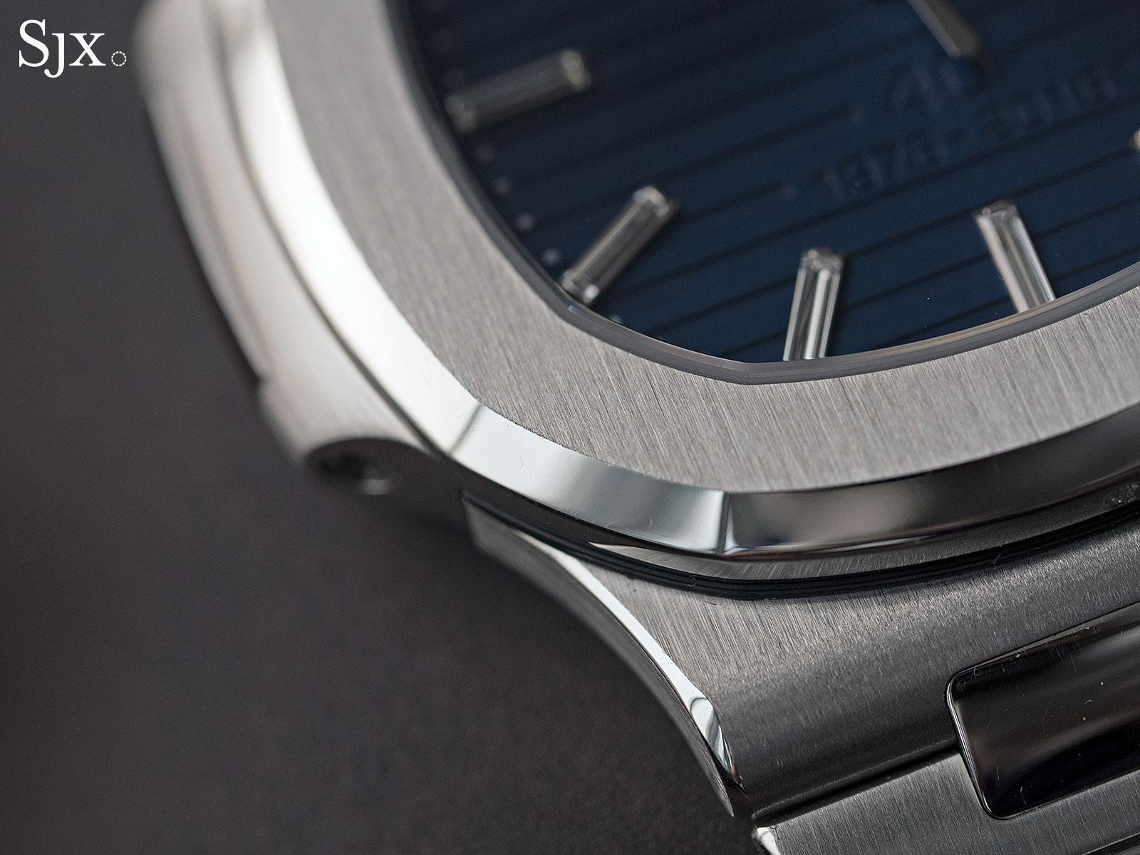 Patek Philippe Nautilus Ref. 5711-1P 40th Anniversary platinum 6
