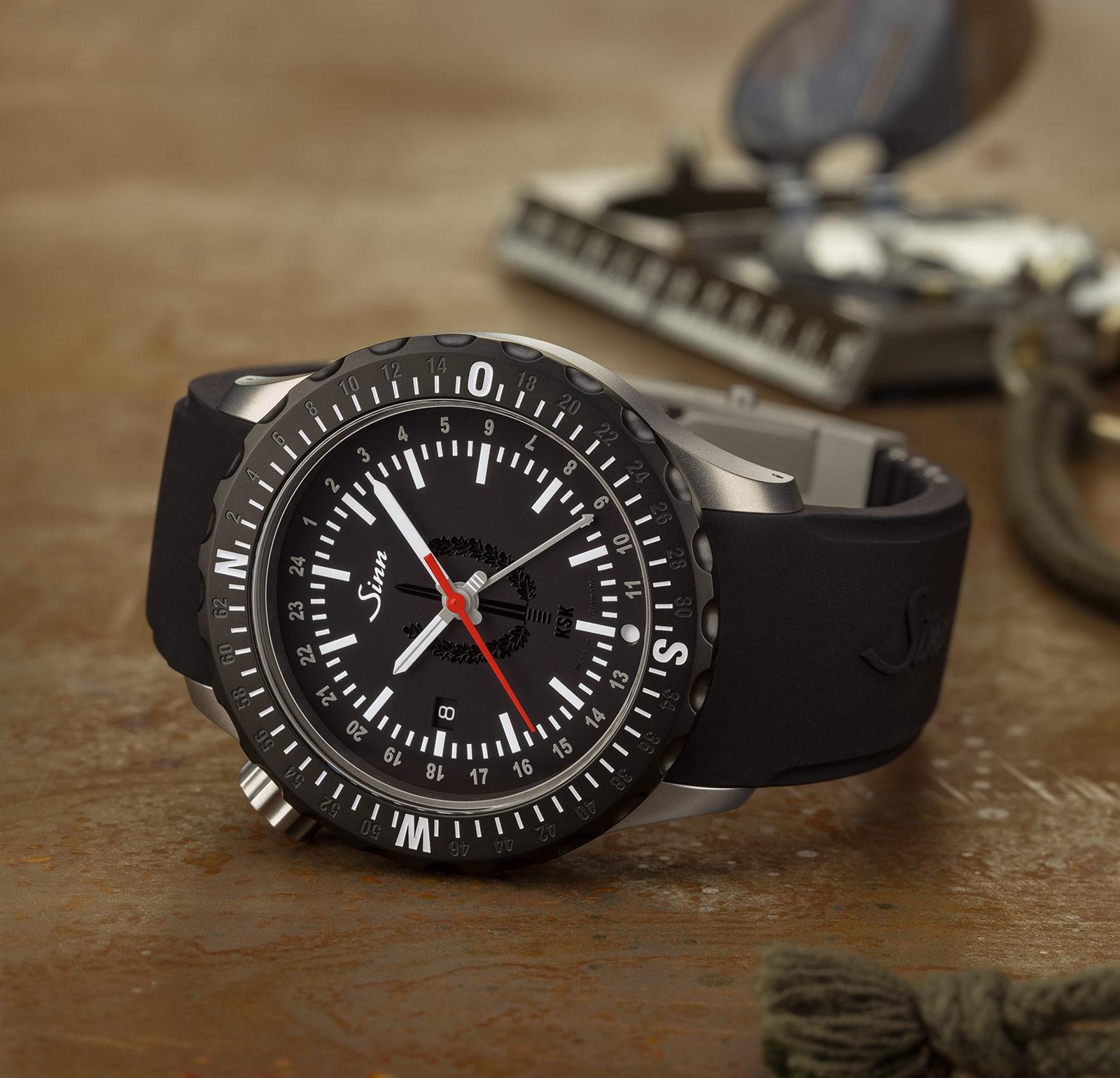 Sinn introduces three new u series submarine steel dive watches sjx watches for Submarine watches