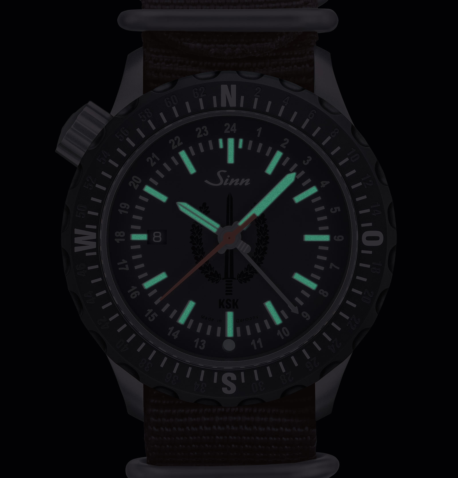 Sinn 212 KSK dive watch 4