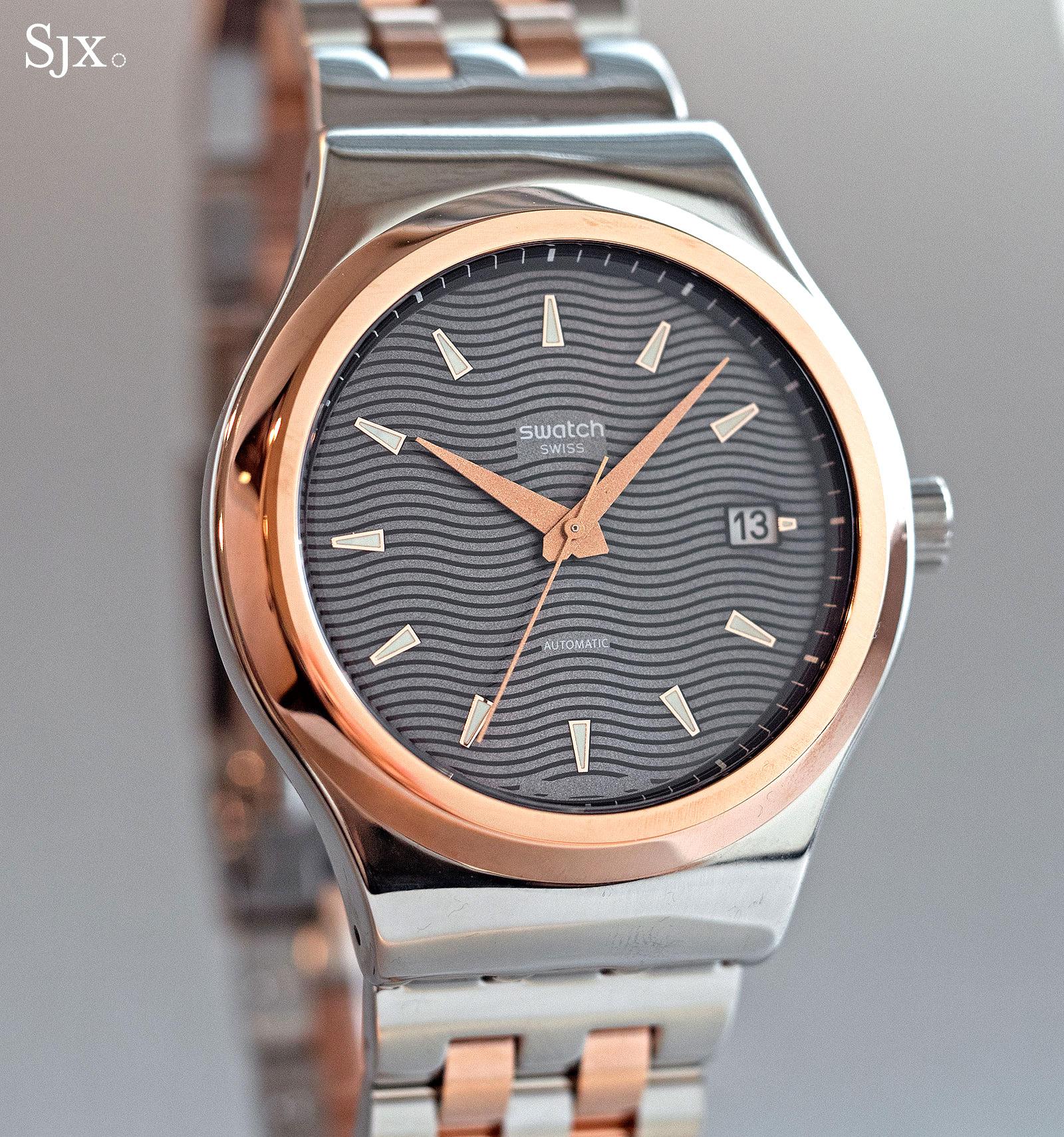 Swatch Sistem51 Irony Tux YIS405G
