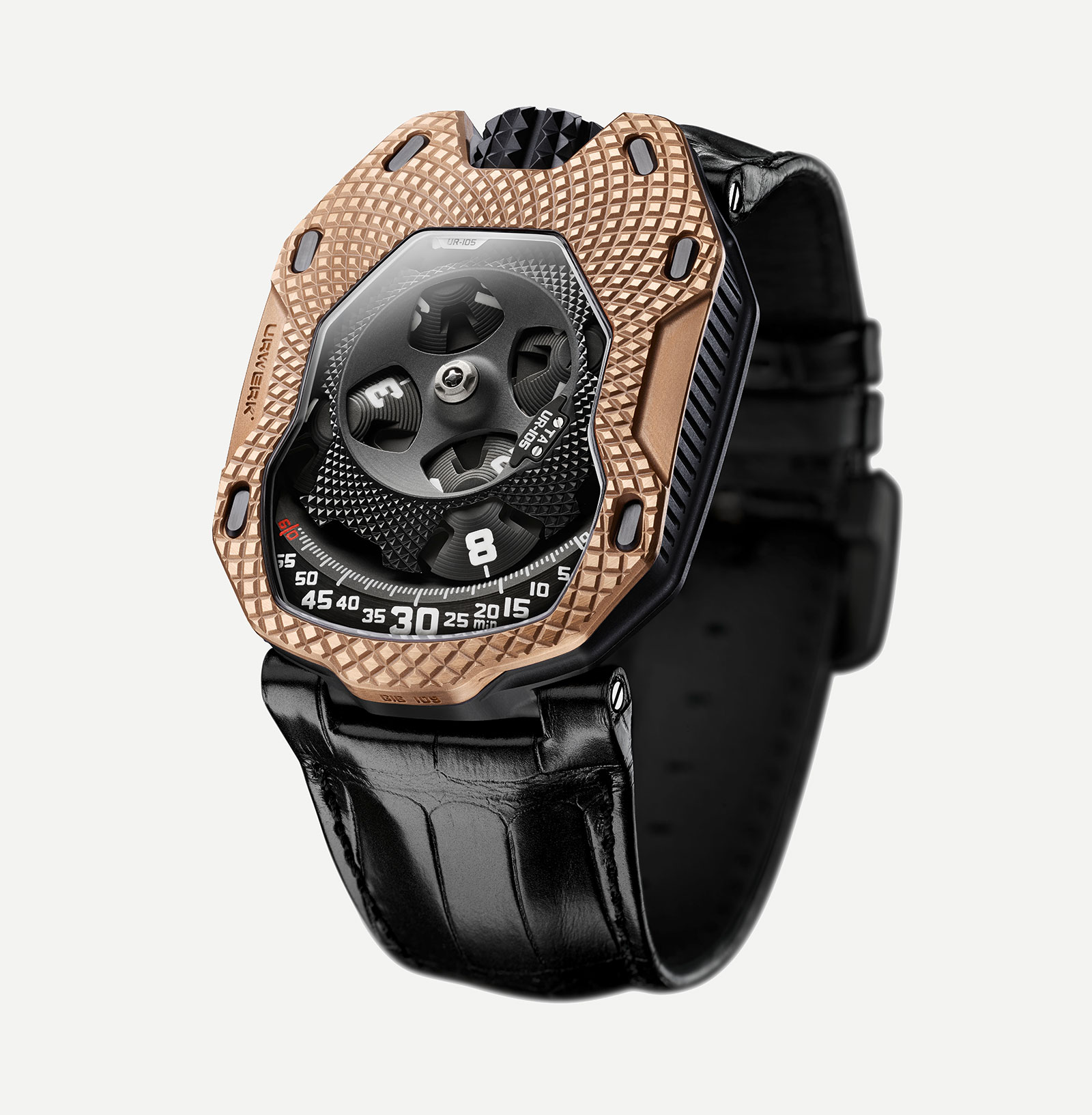 Urwerk UR-105 Raging Gold 2