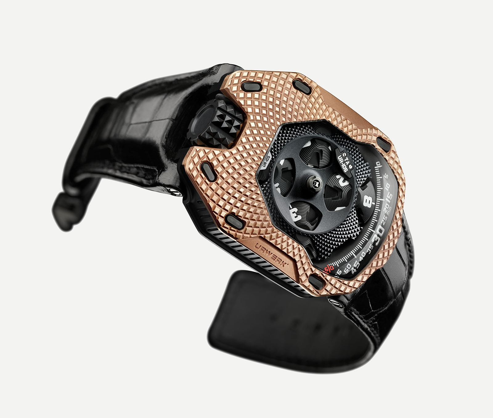 Urwerk UR-105 Raging Gold 3