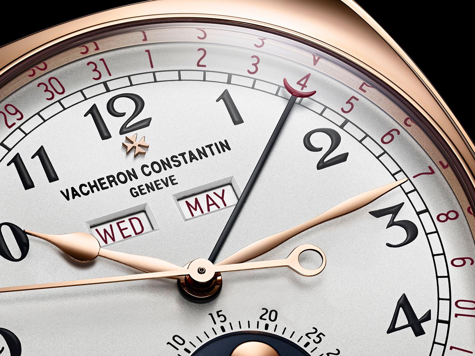Vacheron Constantin Harmony complete calendar 4000S dial