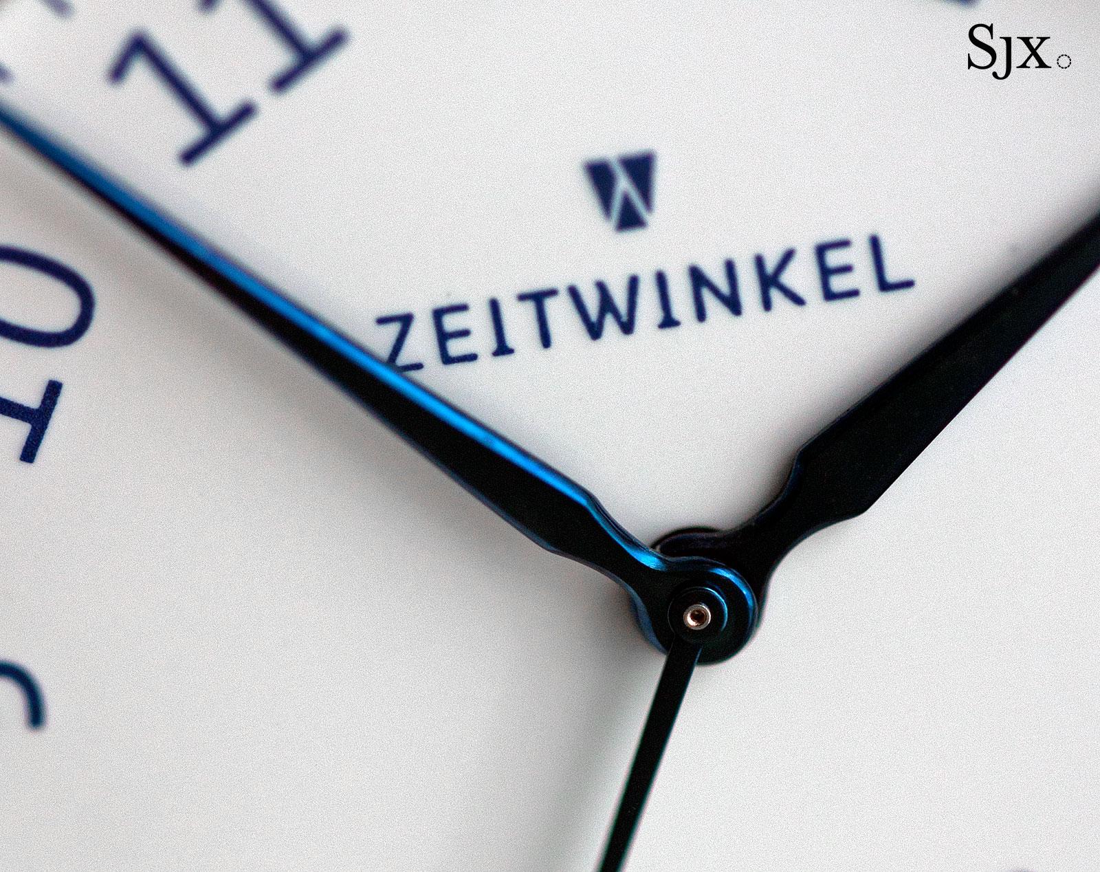 Zeitwinkel 082° émail grand feu enamel dial 2