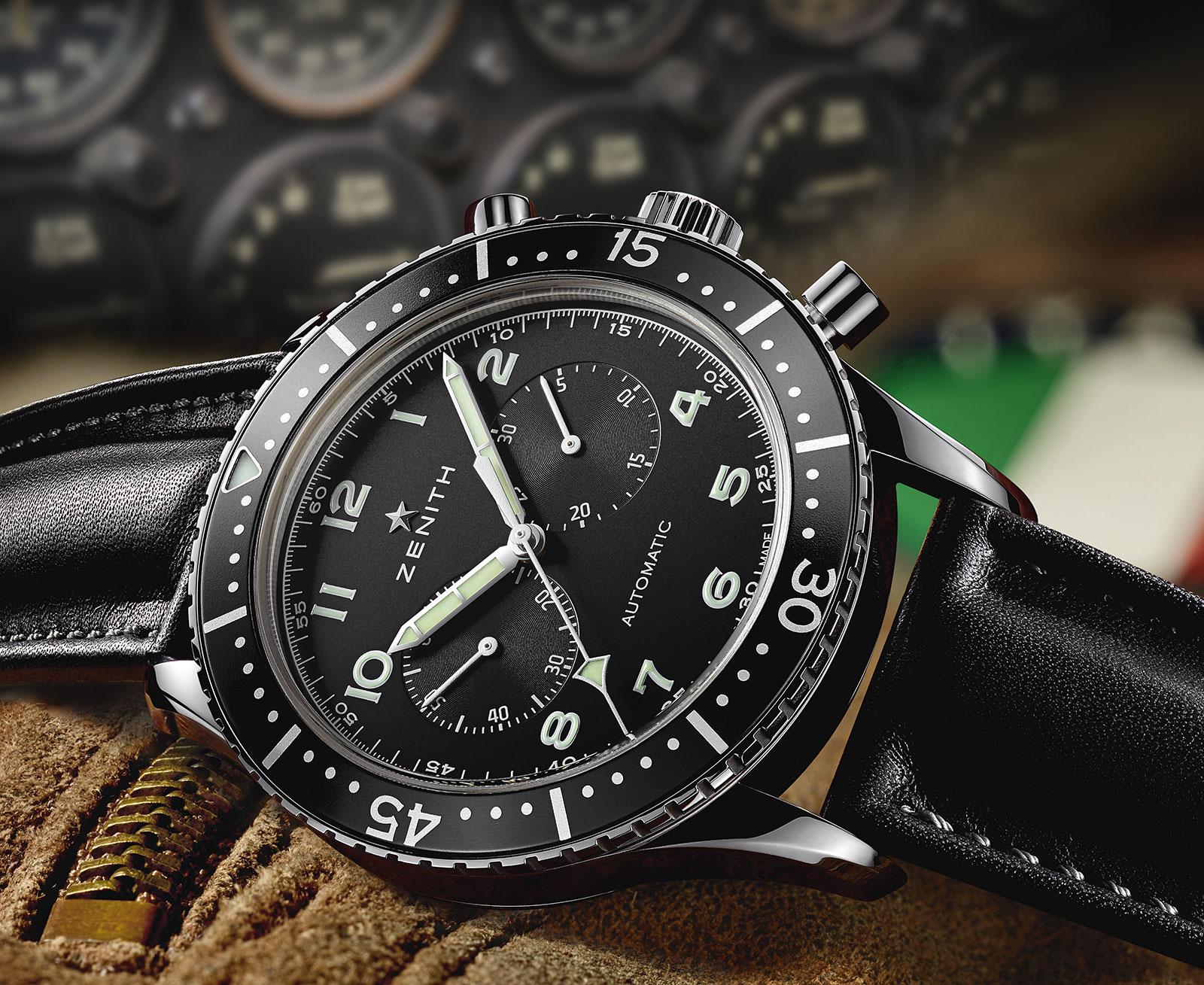 Zenith Heritage Cronometro TIPO CP-2 - 1