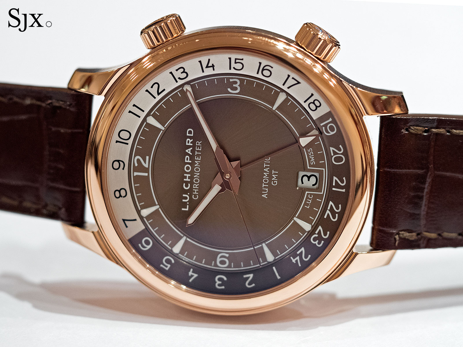 Chopard L.U.C GMT One rose gold 2