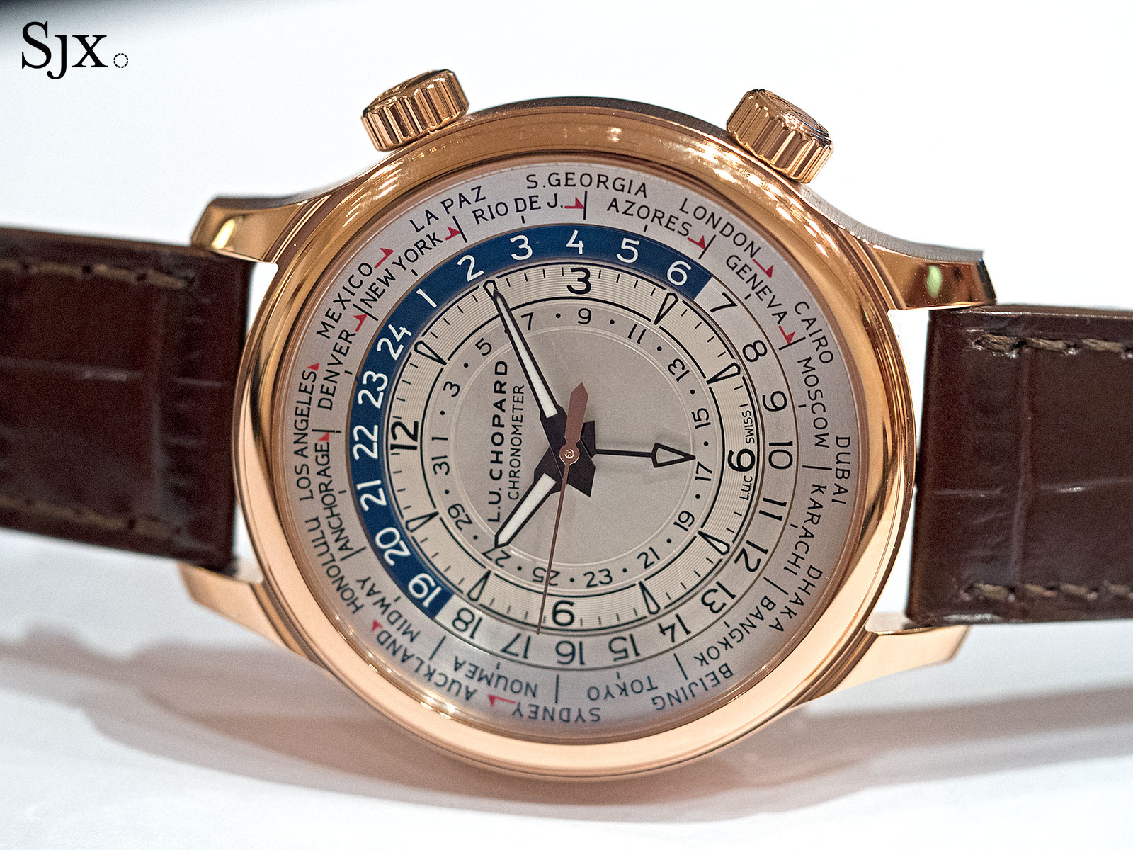 Chopard L.U.C Time Traveler One rose gold