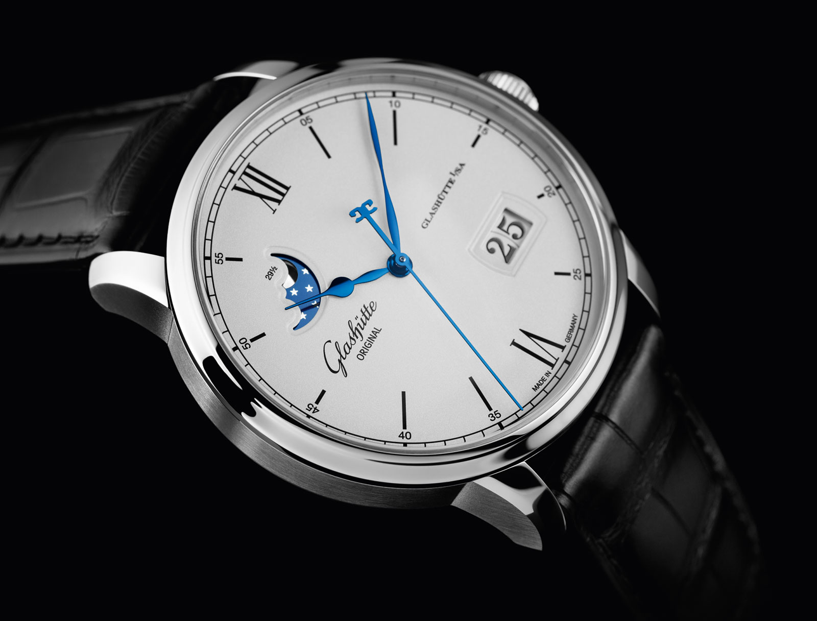 Glashütte Original Senator Excellence Panorama Date Moon Phase 1
