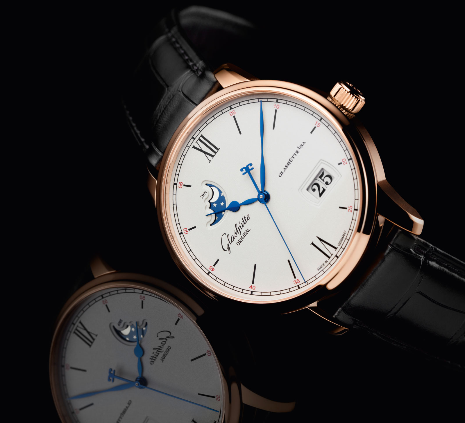 Glashütte Original Senator Excellence Panorama Date Moon Phase 3