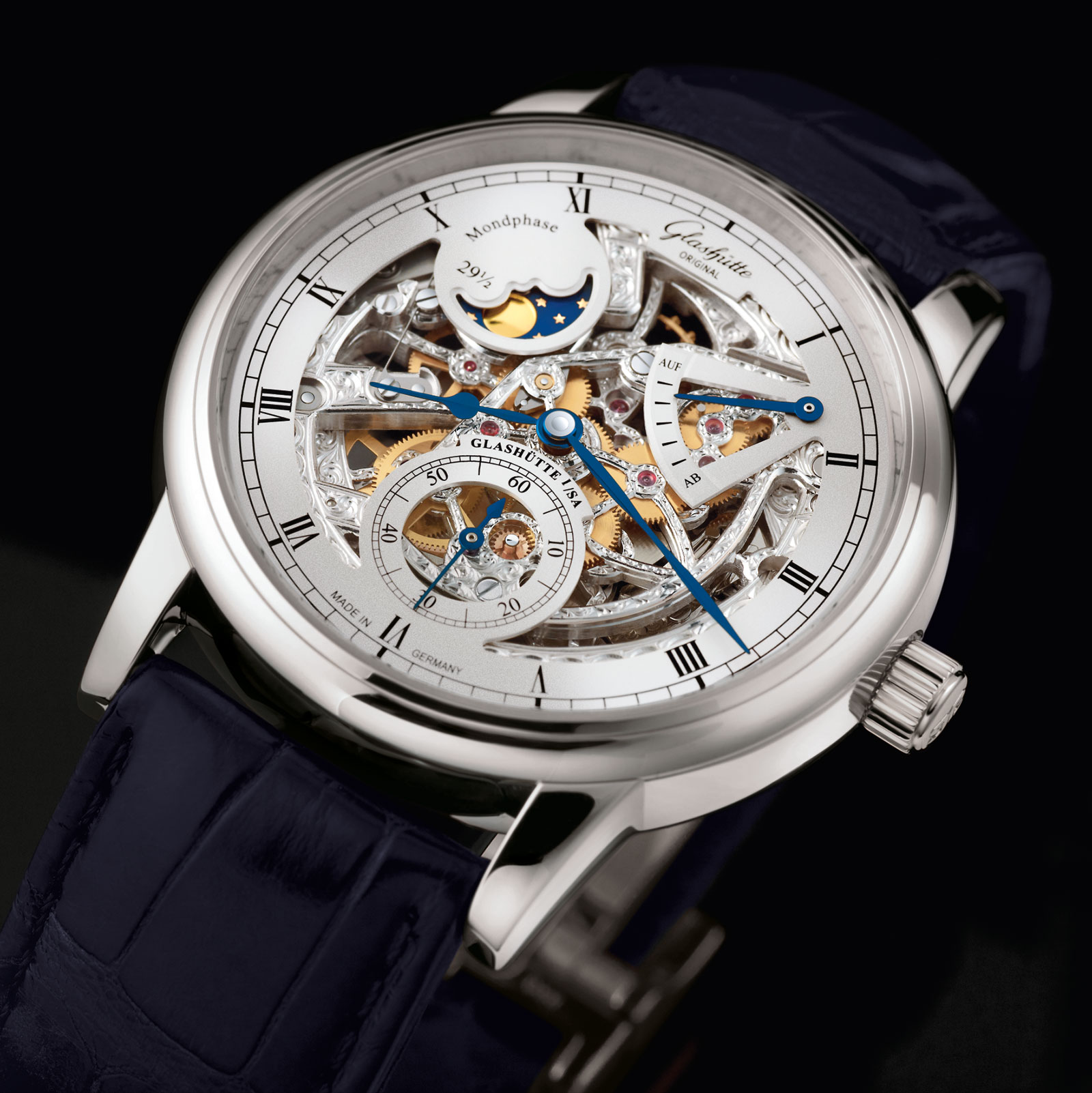 Glashütte Original Senator Moon Phase Skeletonized Edition 2