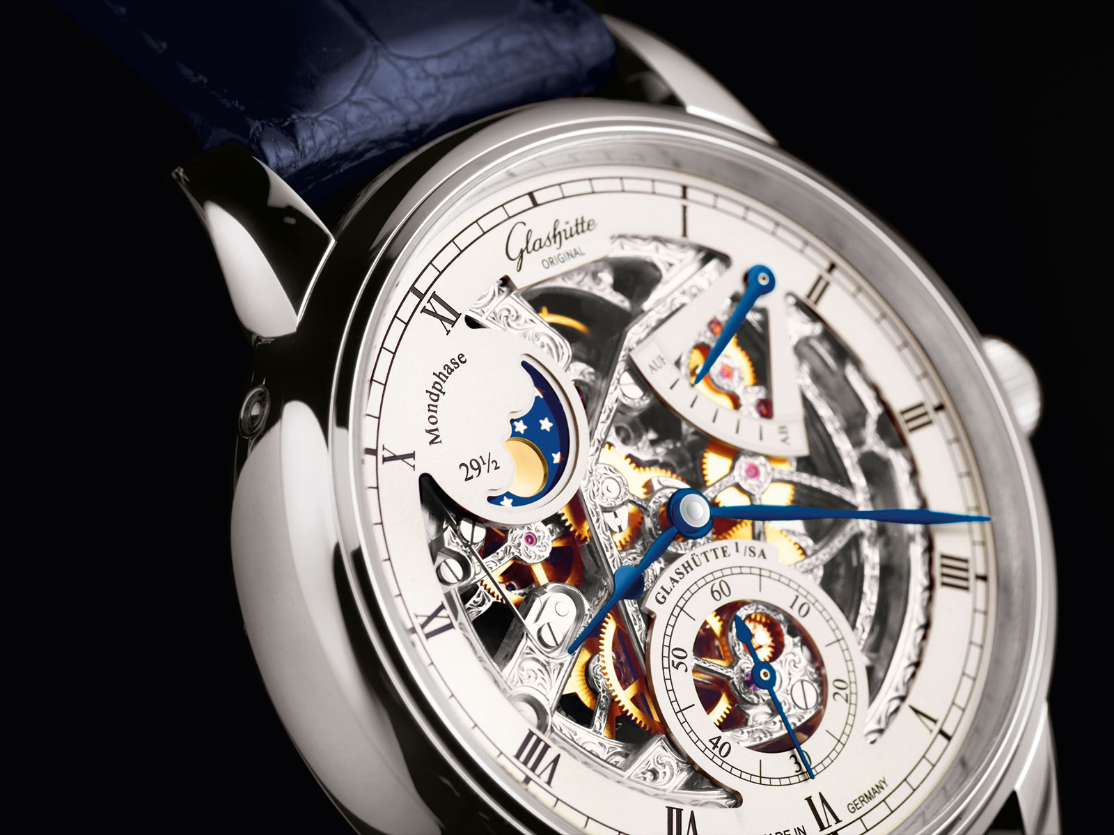 Glashütte Original Senator Moon Phase Skeletonized Edition 3