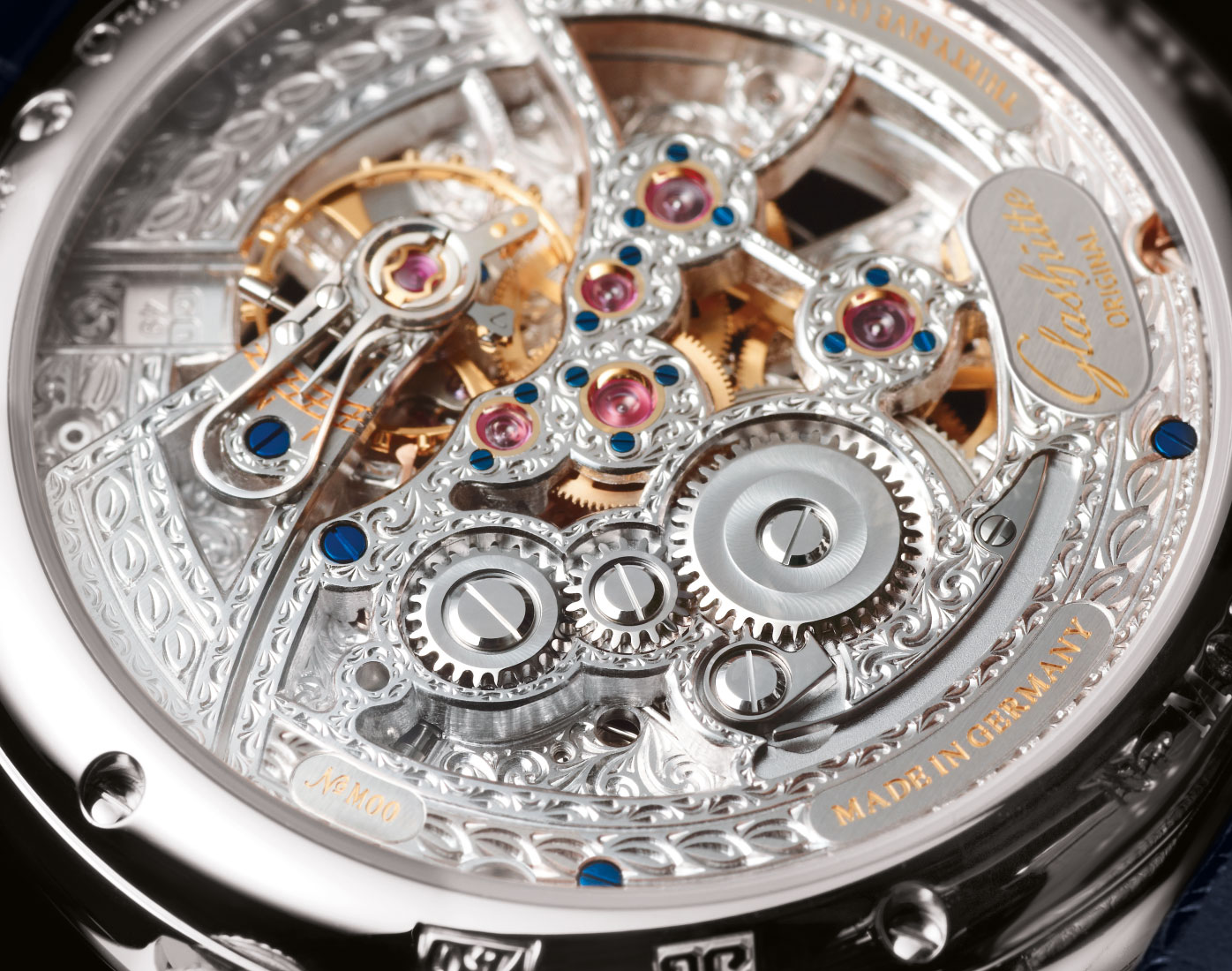 Glashütte Original Senator Moon Phase Skeletonized Edition 4