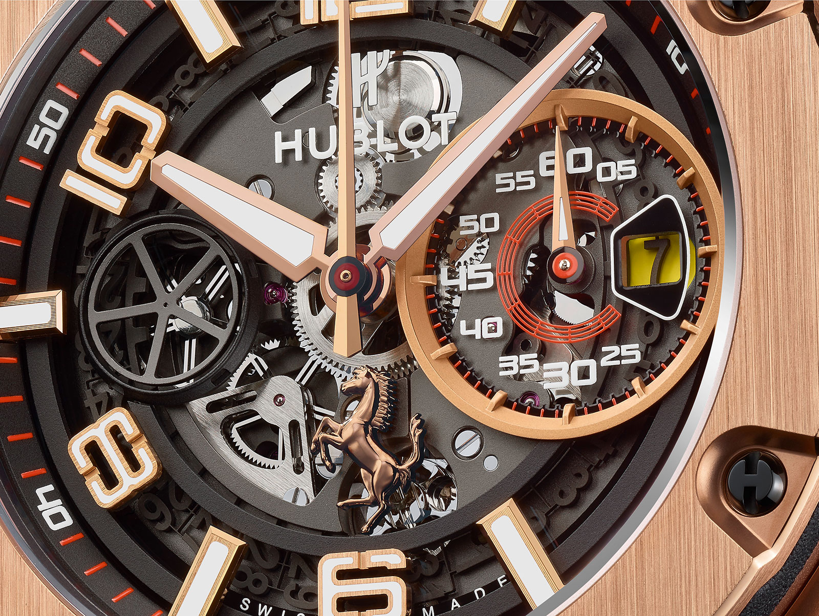 Hublot Big Bang Ferrari King Gold 2