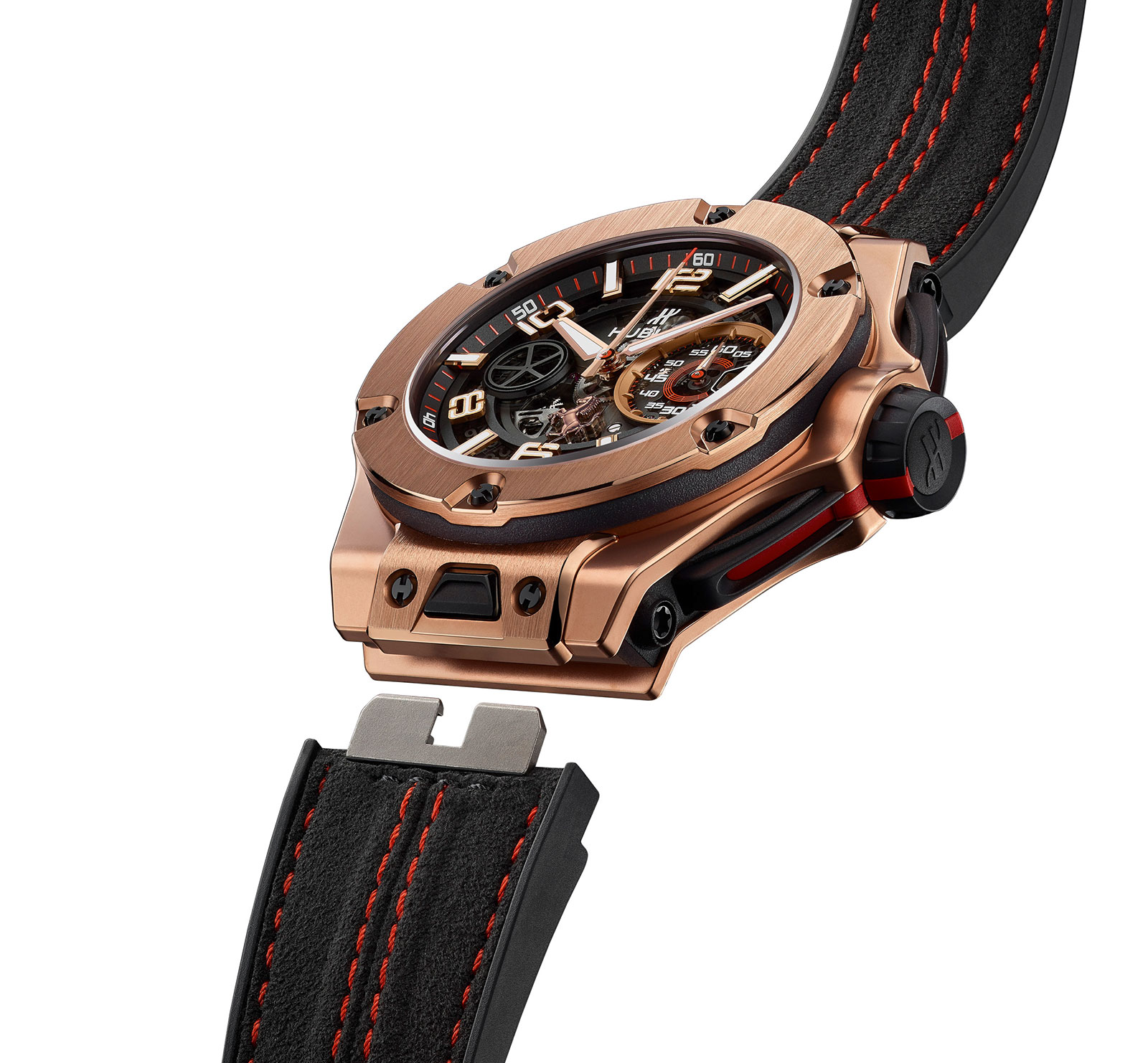Hublot Big Bang Ferrari King Gold 4
