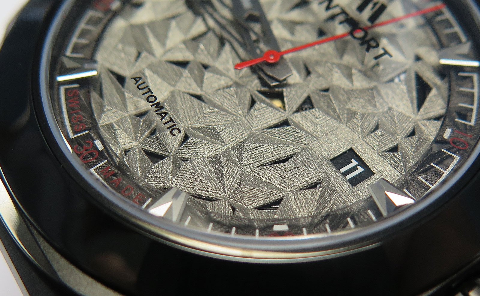 Montfront Strata watch 3D printed dial 2