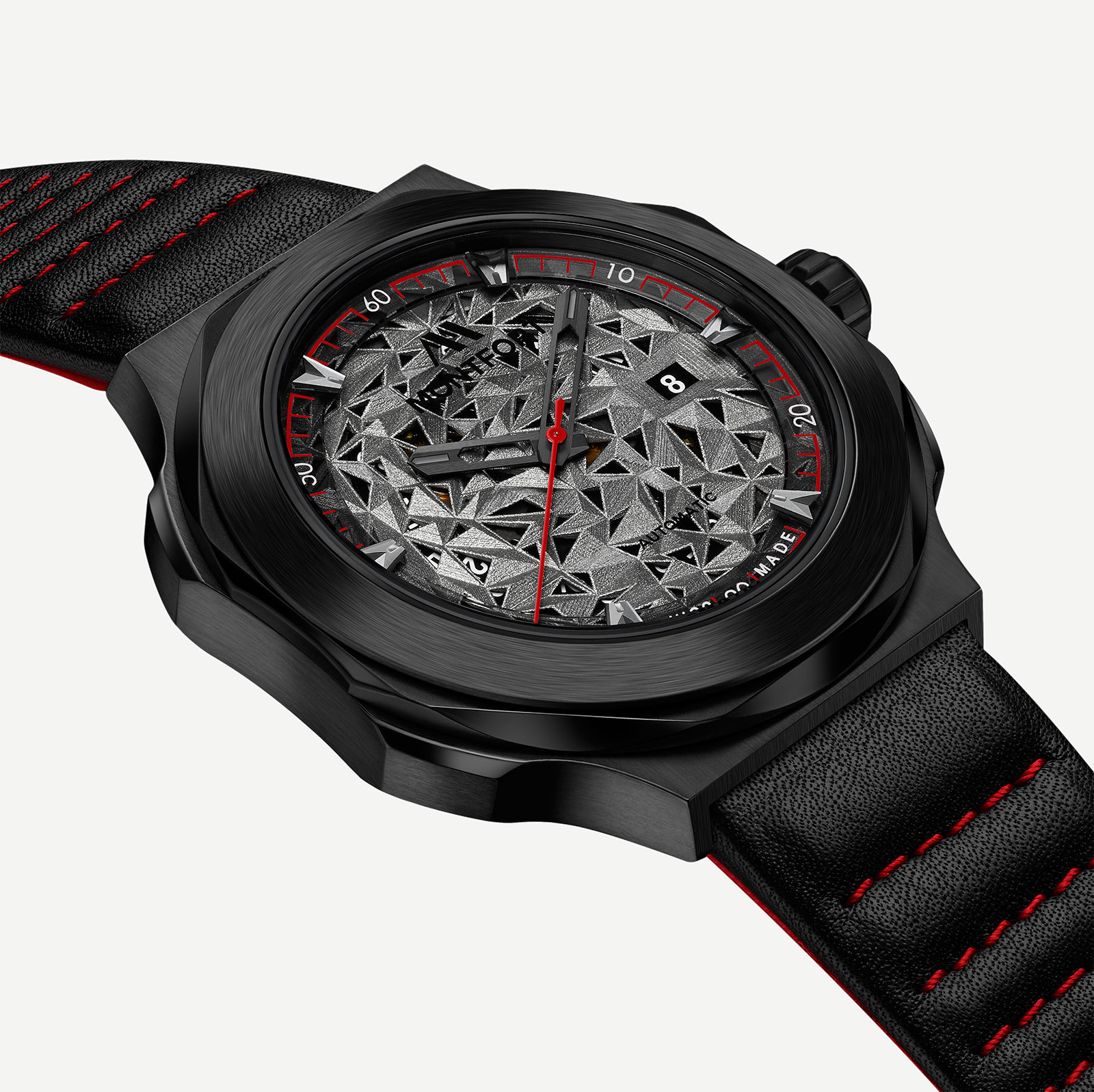 Montfront Strata watch 3D printed dial 6