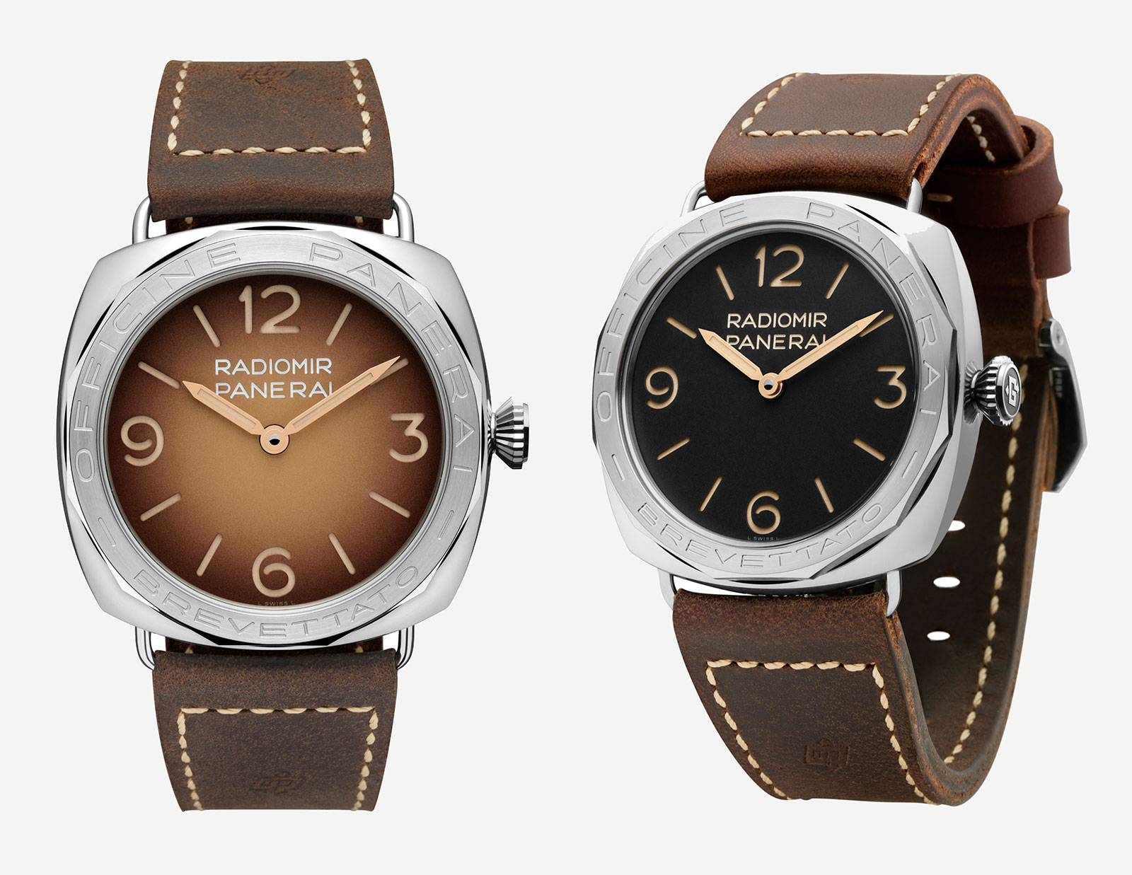 Panerai Radiomir 3 Days Acciaio PAM685 and PAM687-1