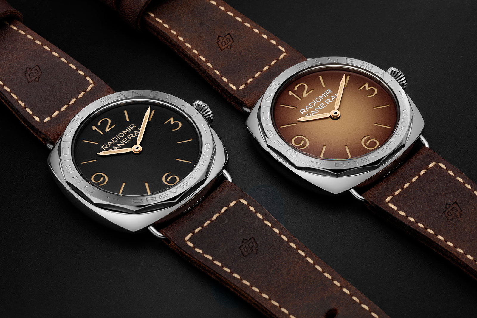 Panerai Radiomir 3 Days Acciaio PAM685 and PAM687