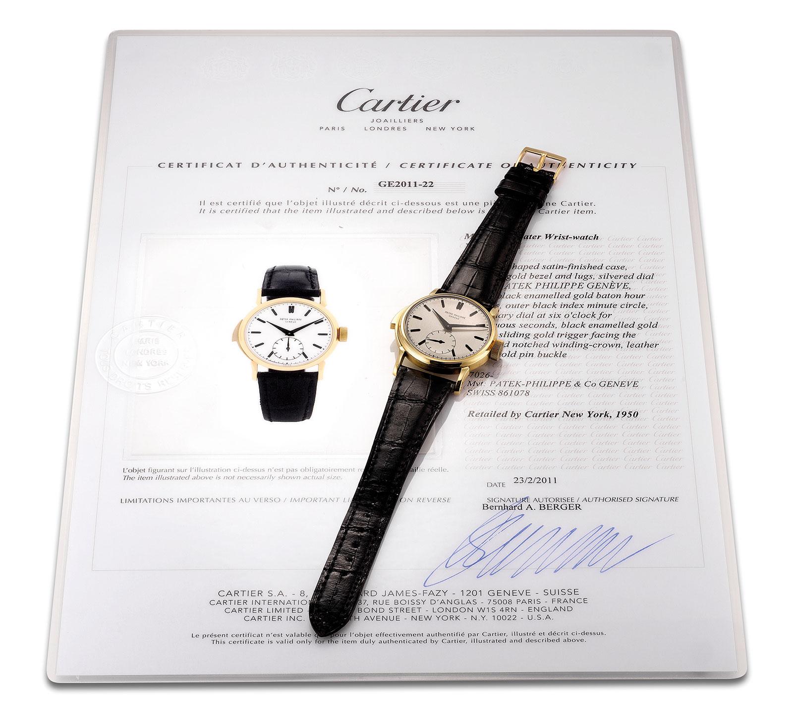 Patek Philippe 2419 minute repeater Cartier 3