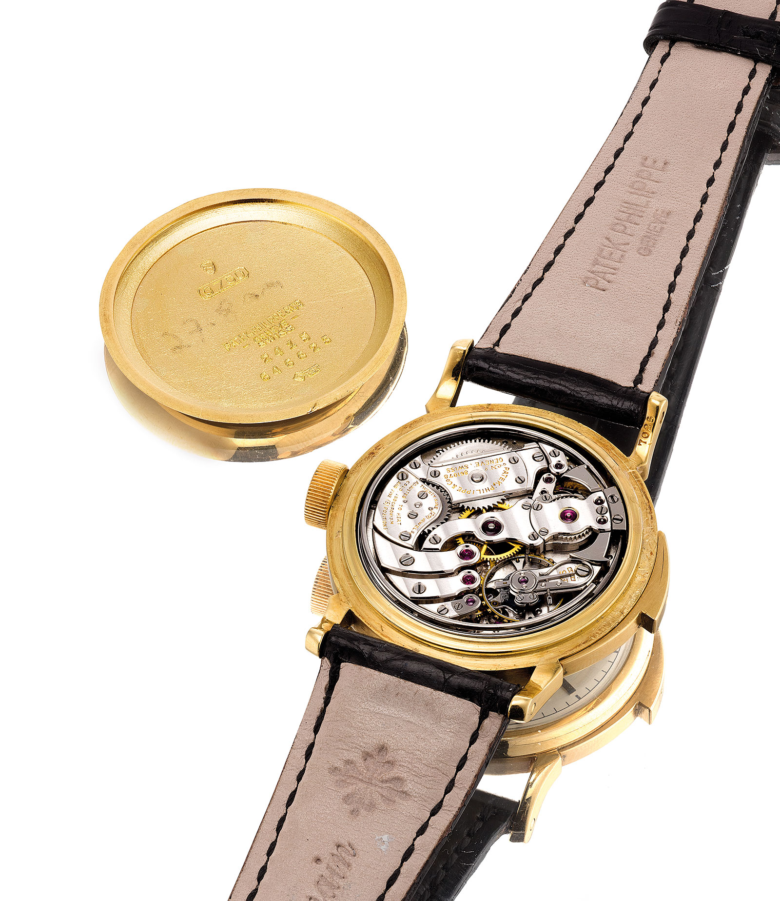 Patek Philippe 2419 minute repeater Cartier movement