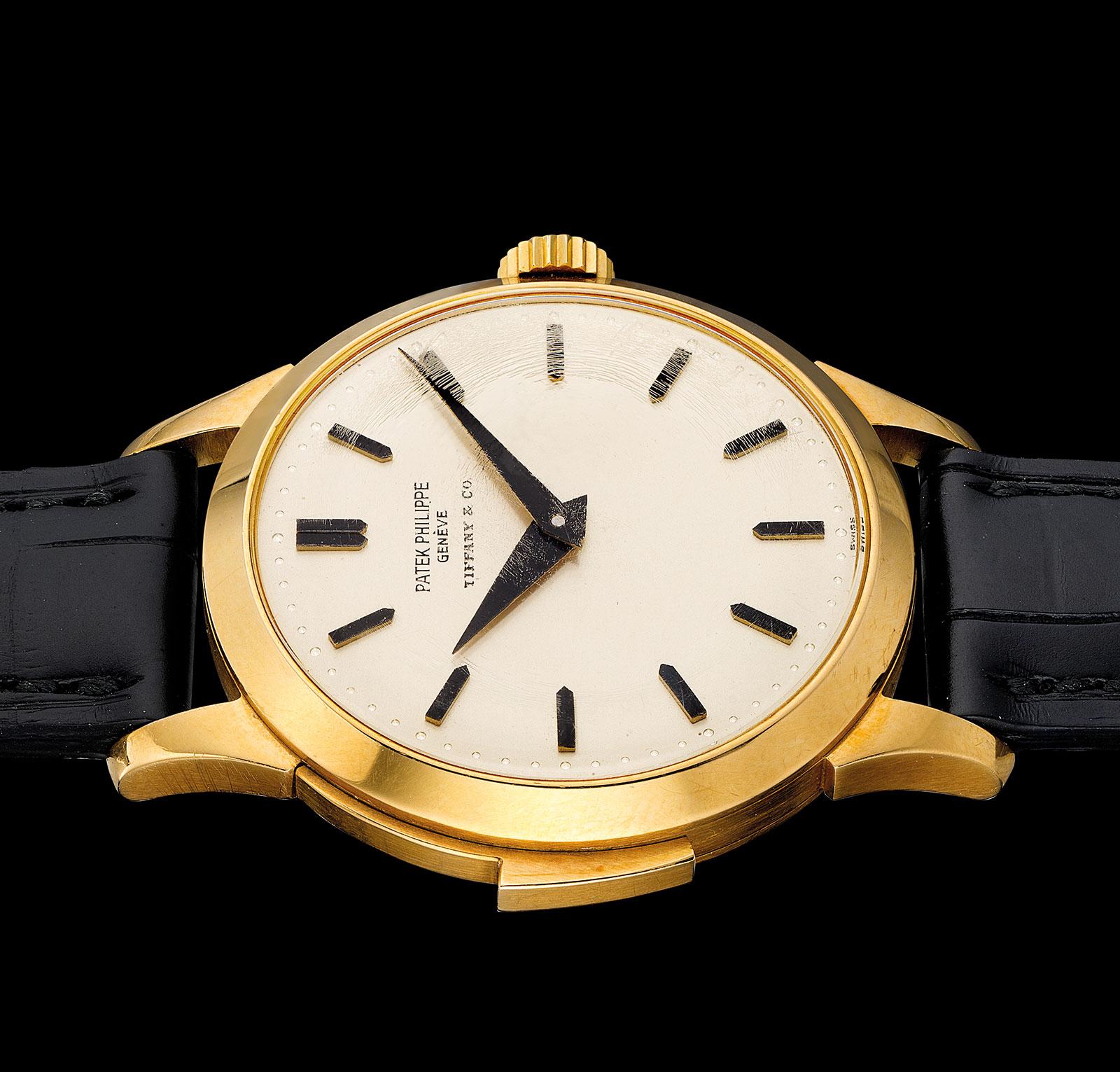 Patek Philippe 2524 minute repeater Tiffany profile