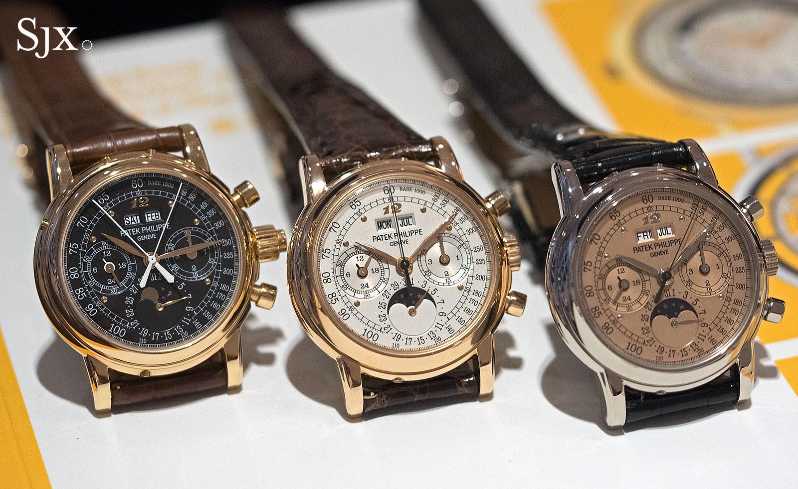 Patek Philippe chronographs Eric Clapton 1